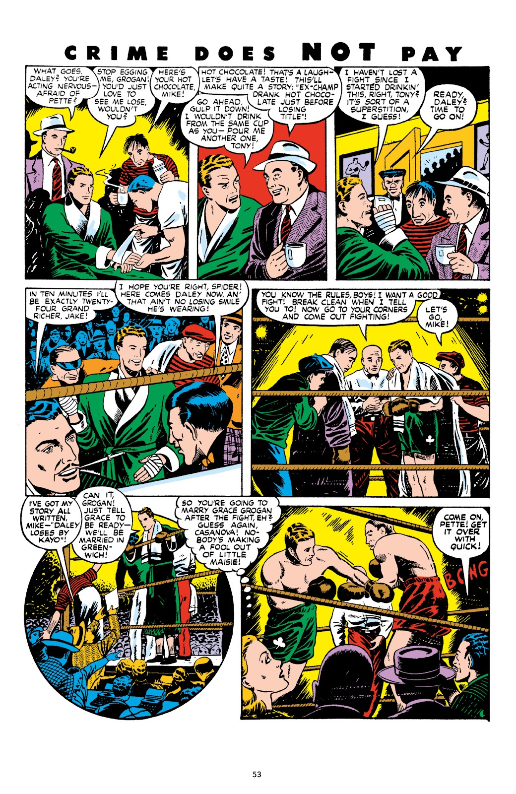 Read online Crime Does Not Pay Archives comic -  Issue # TPB 9 (Part 1) - 55