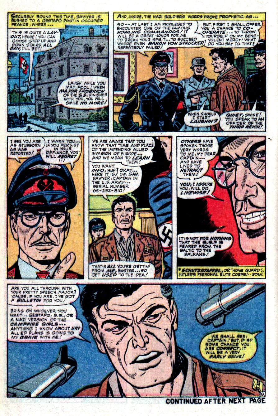 Read online Sgt. Fury comic -  Issue #31 - 12