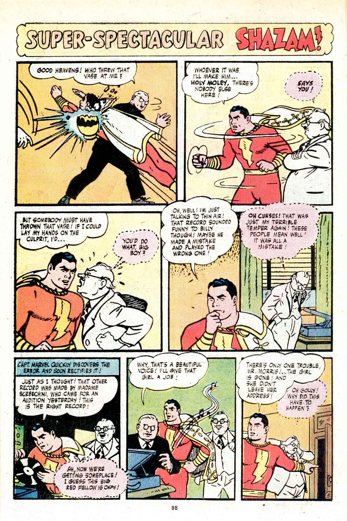 Read online Shazam! (1973) comic -  Issue #17 - 88