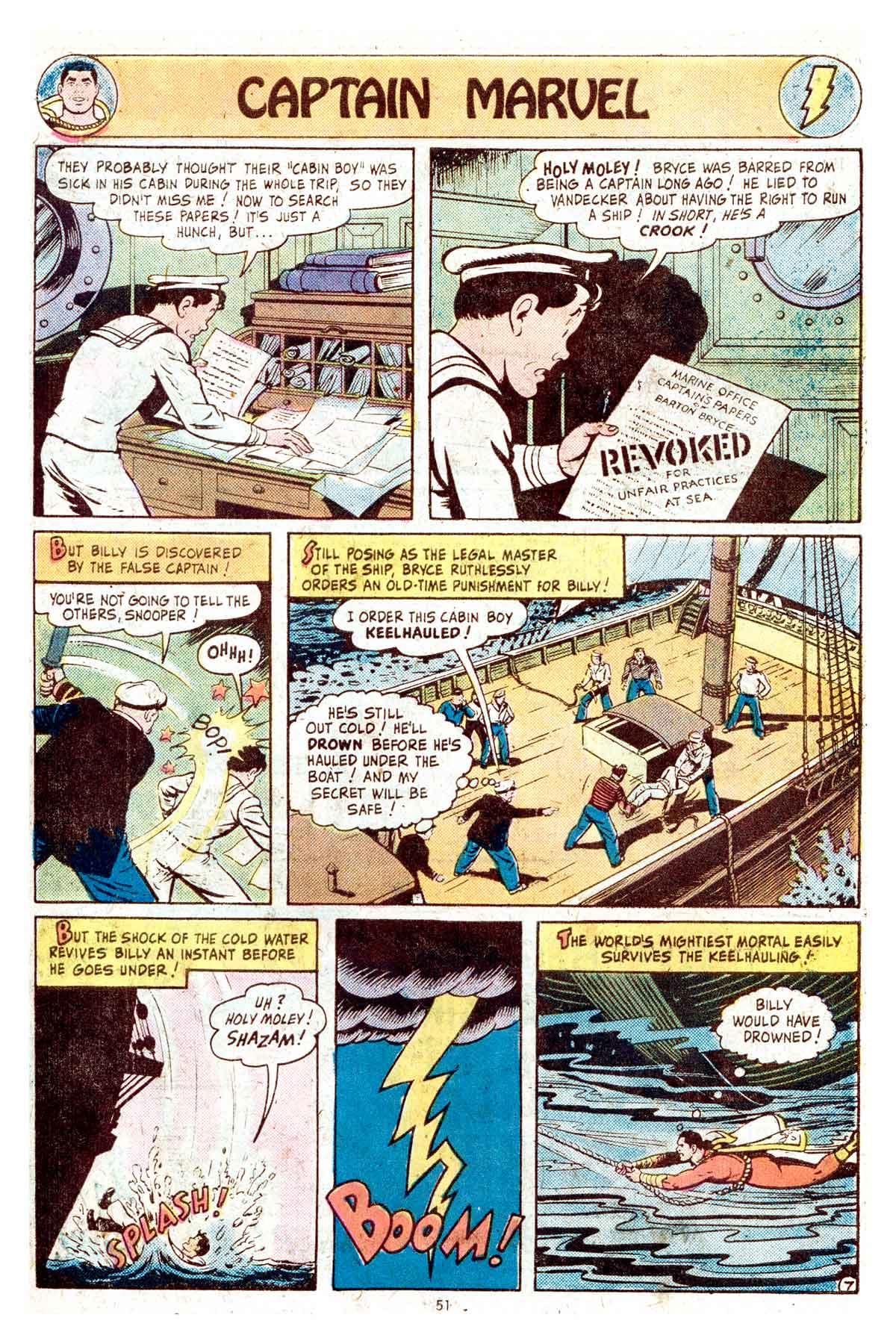 Read online Shazam! (1973) comic -  Issue #17 - 51
