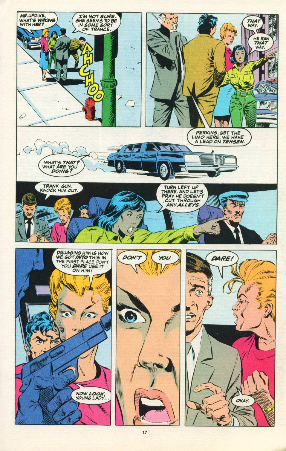Read online Justice (1986) comic -  Issue #22 - 18