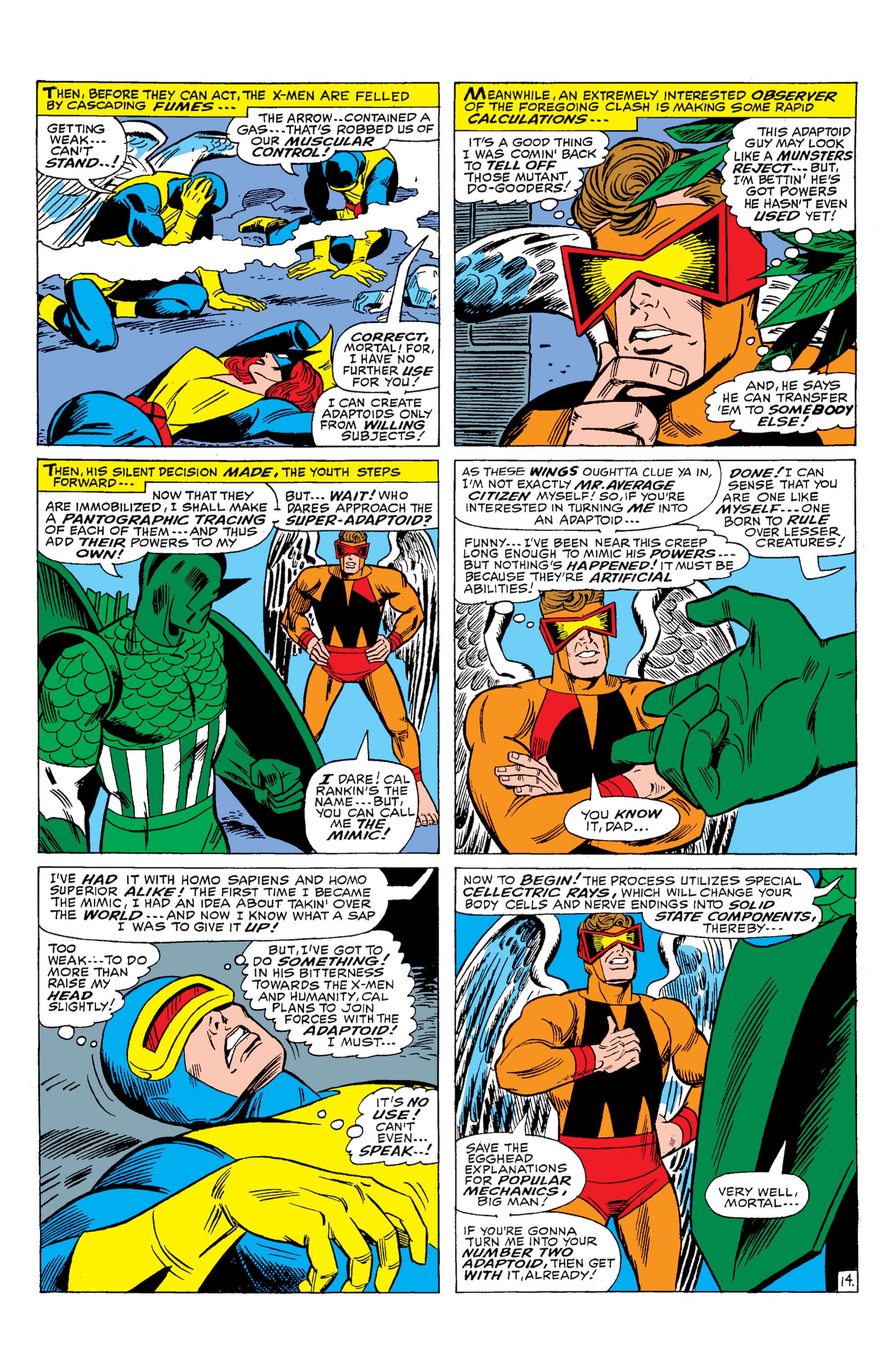 Read online Uncanny X-Men (1963) comic -  Issue #29 - 15