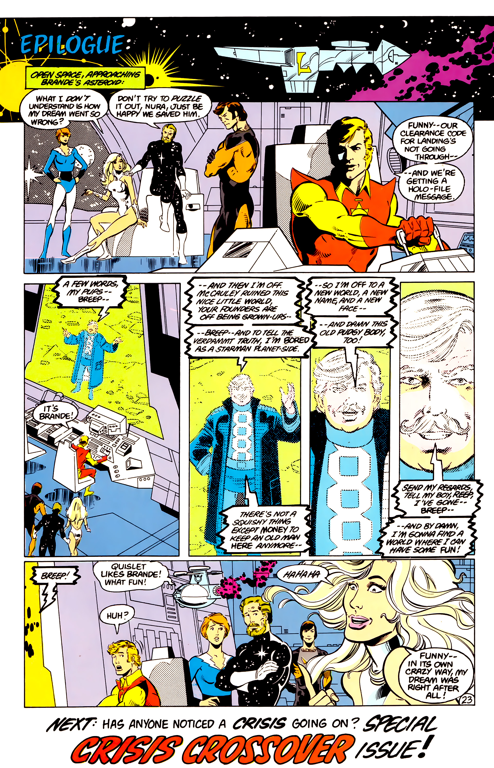 Legion of Super-Heroes (1984) 17 Page 24