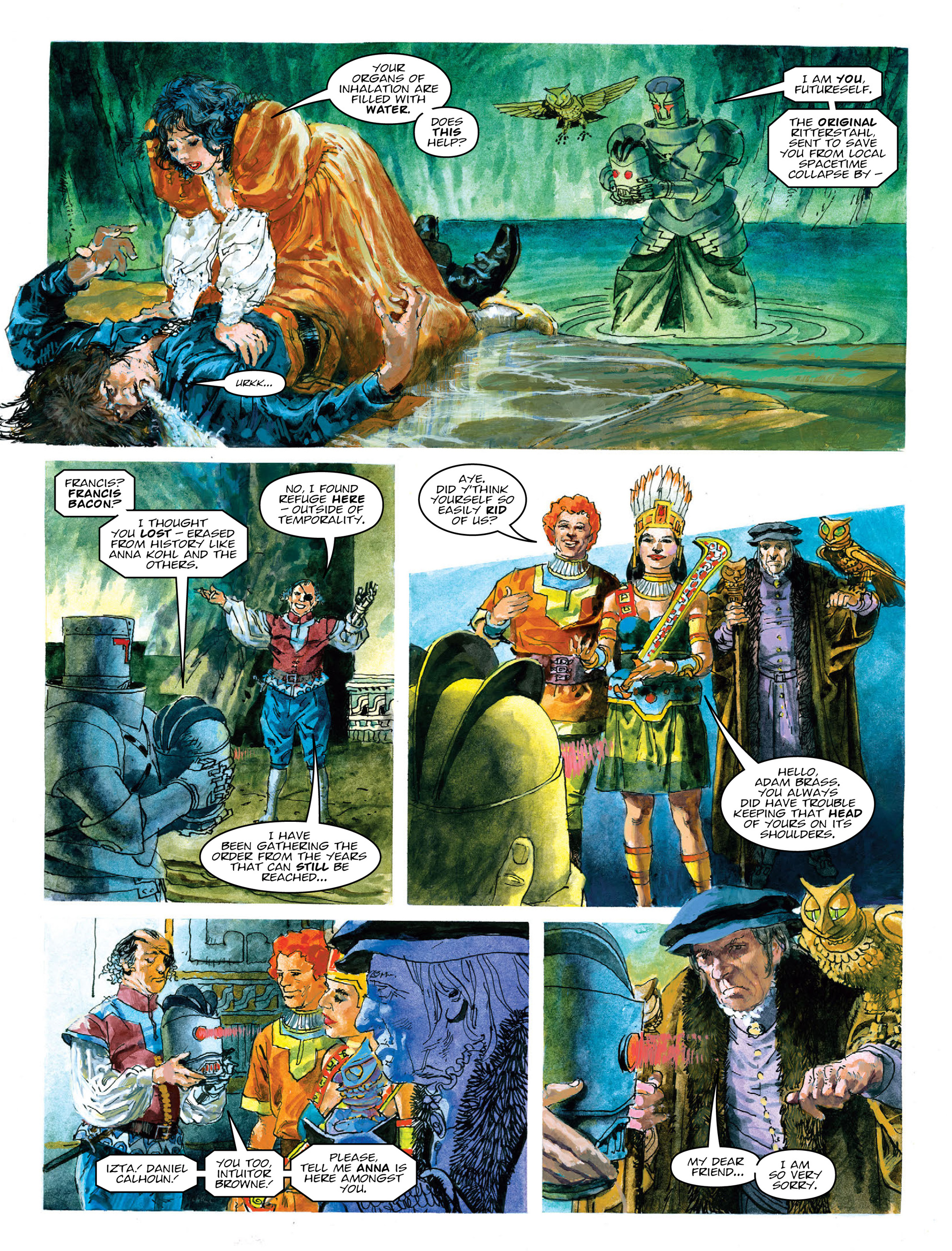 Read online 2000 AD comic -  Issue #2015 - 22