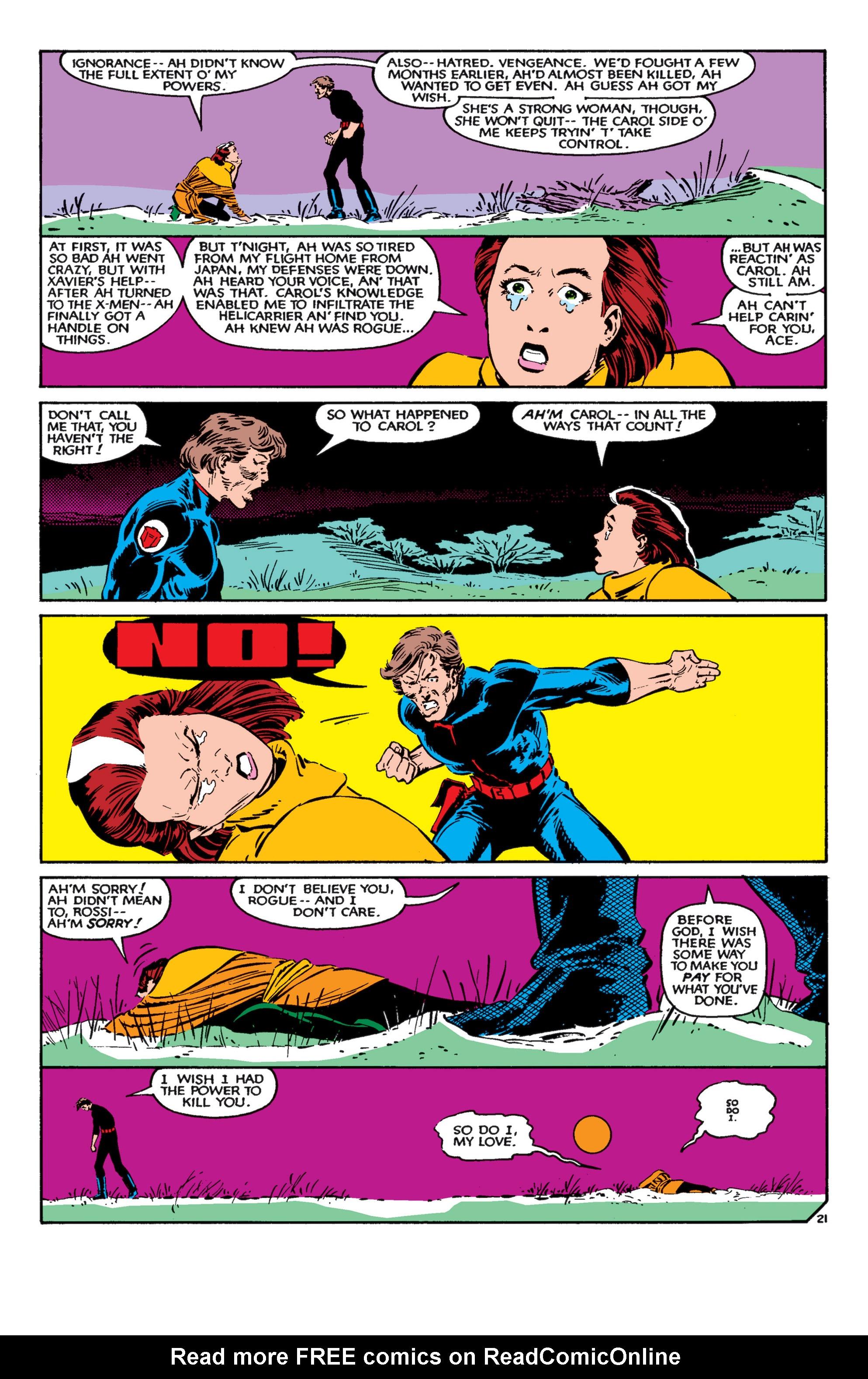 Read online Uncanny X-Men (1963) comic -  Issue #182 - 22
