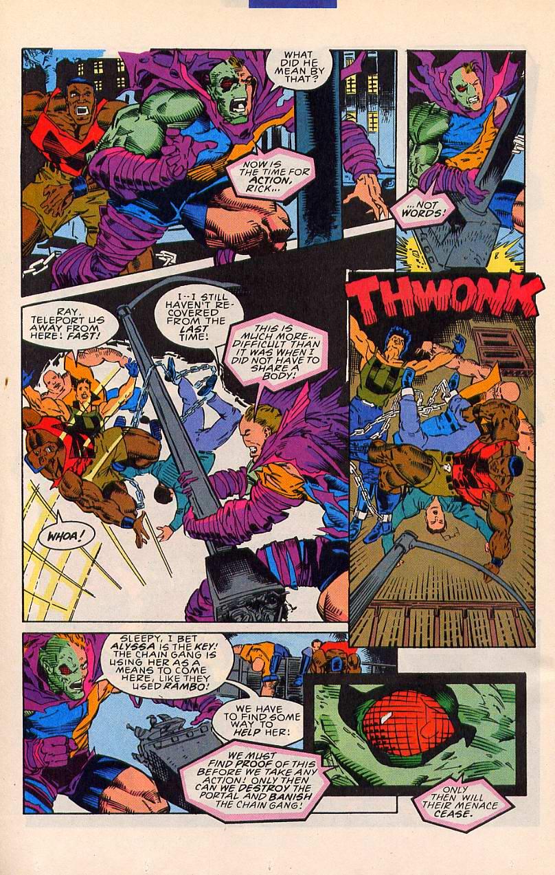 Read online Sleepwalker comic -  Issue #20 - 19