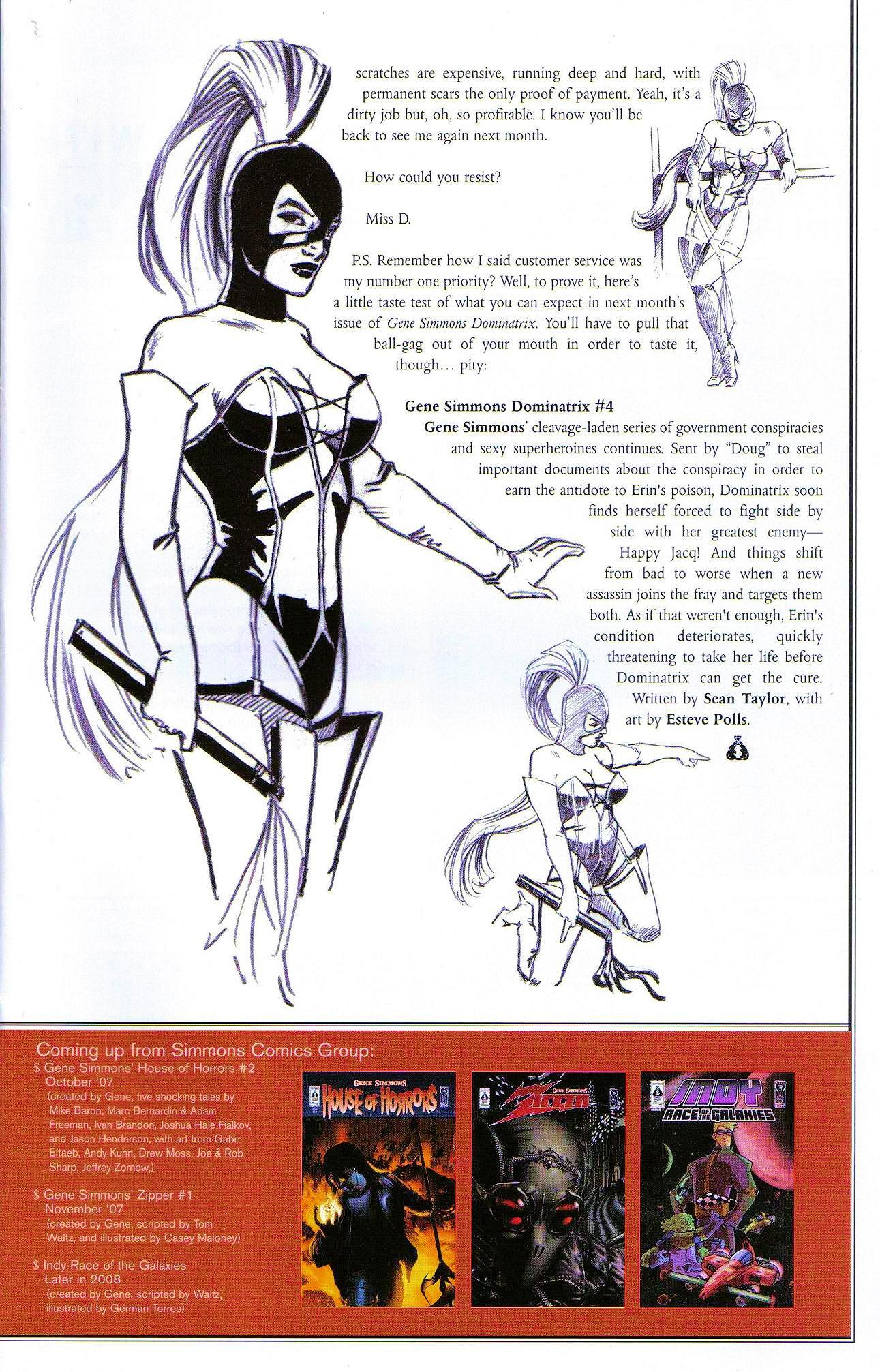 Read online Dominatrix comic -  Issue #3 - 27