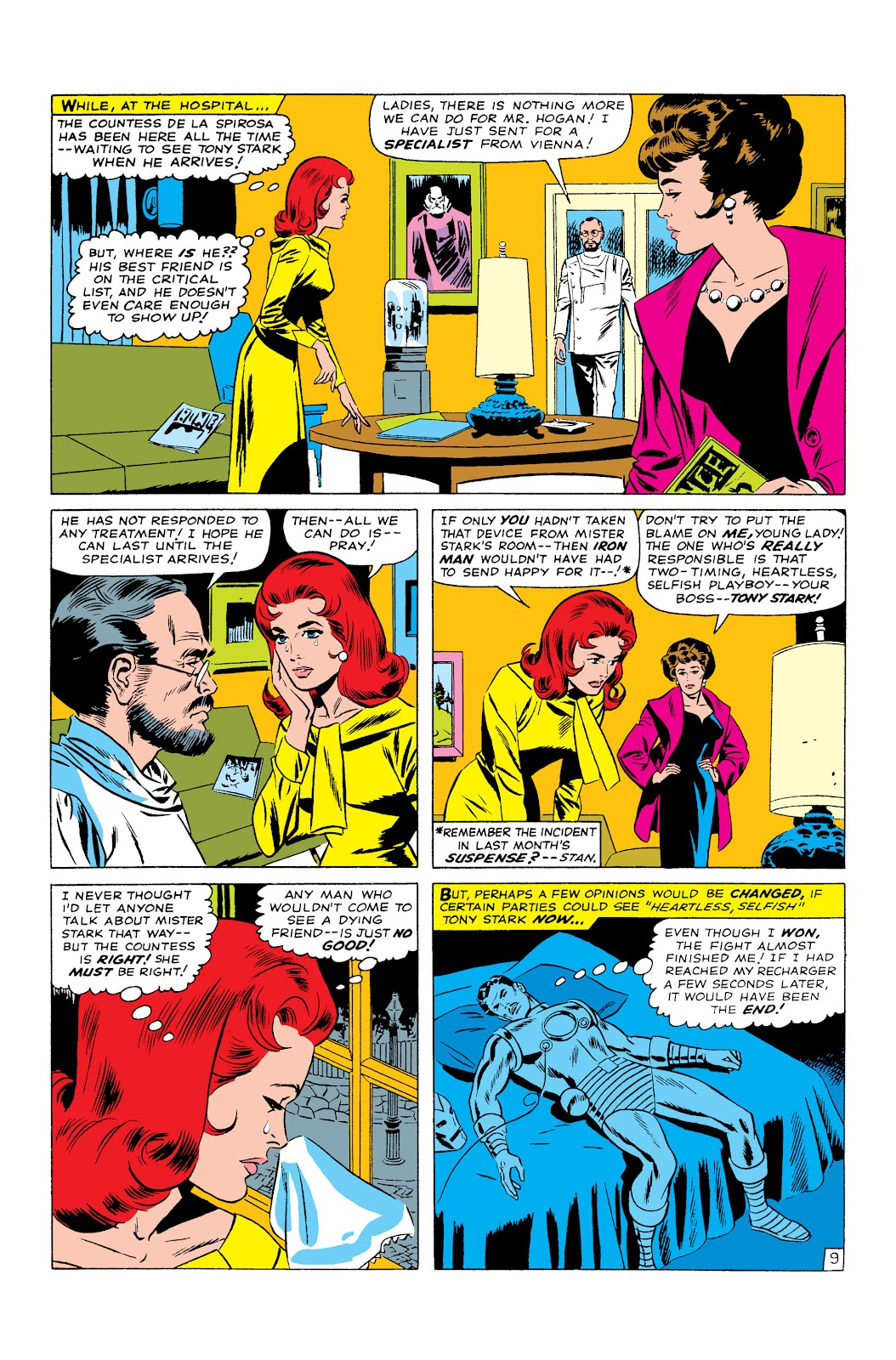 Read online Marvel Masterworks: The Invincible Iron Man comic -  Issue # TPB 3 (Part 2) - 27