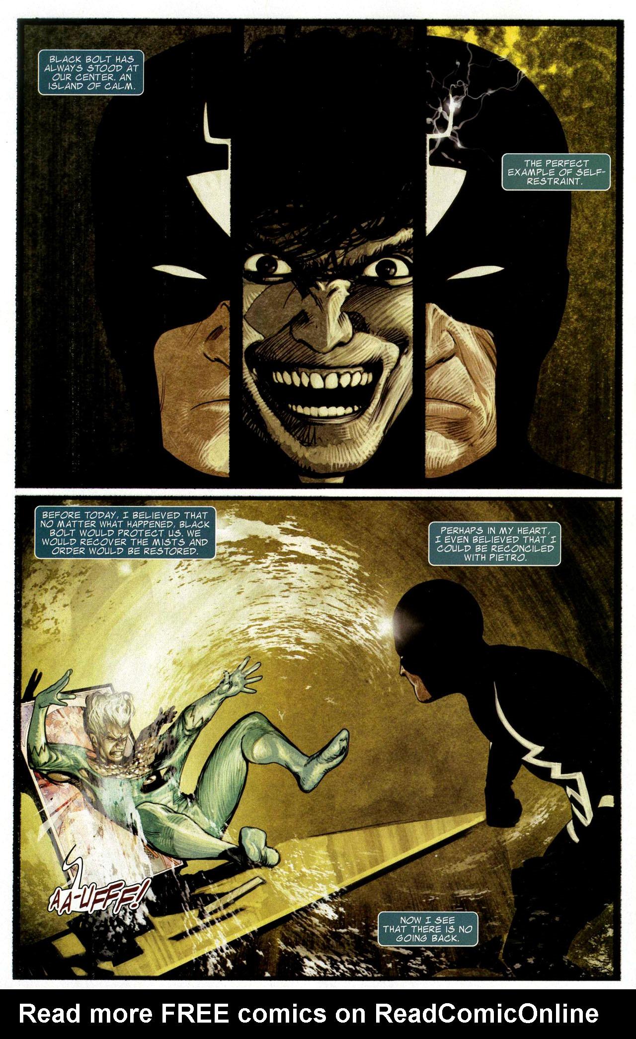 Read online Silent War comic -  Issue #3 - 6