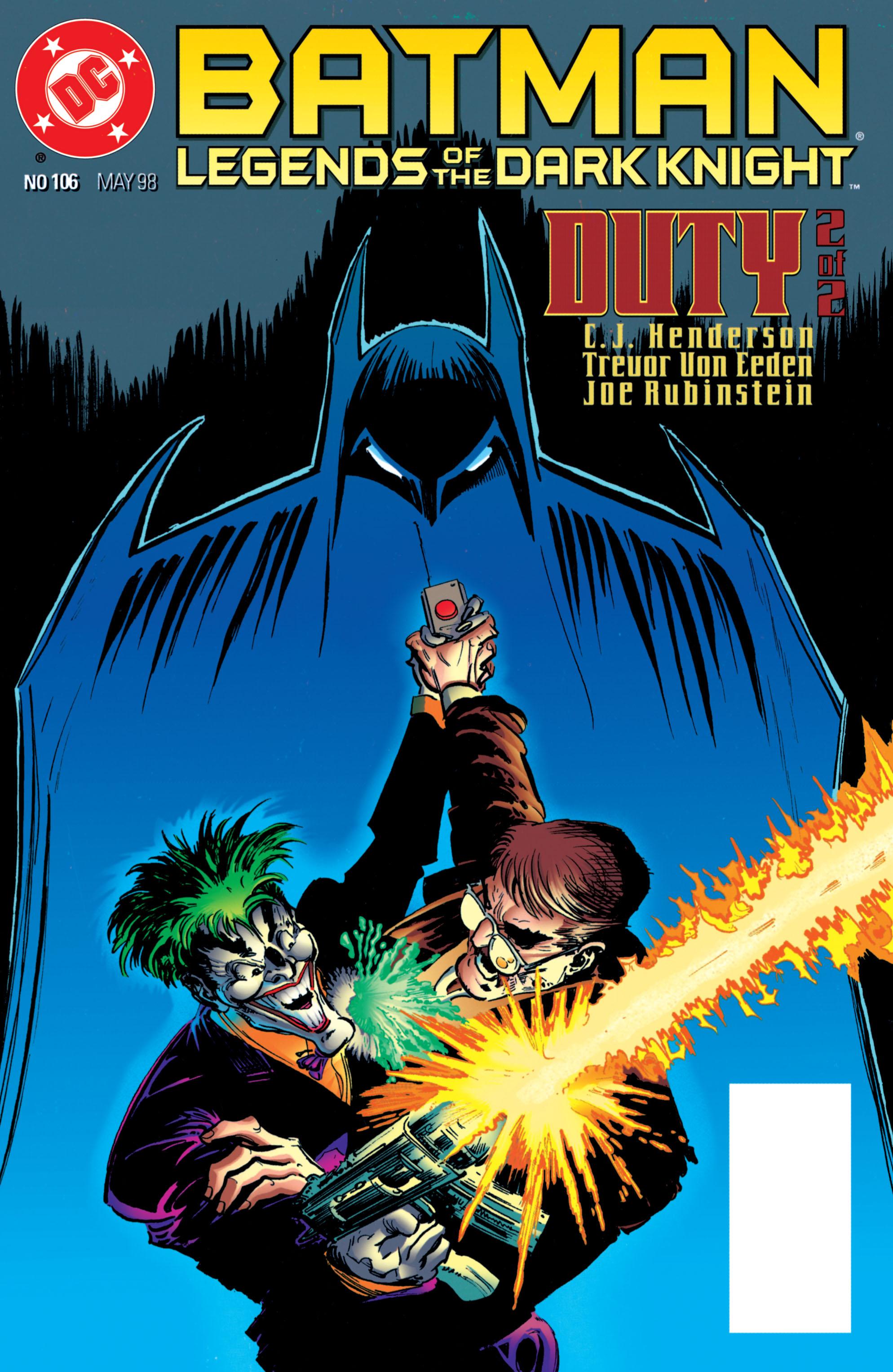 Batman: Legends of the Dark Knight 106 Page 1