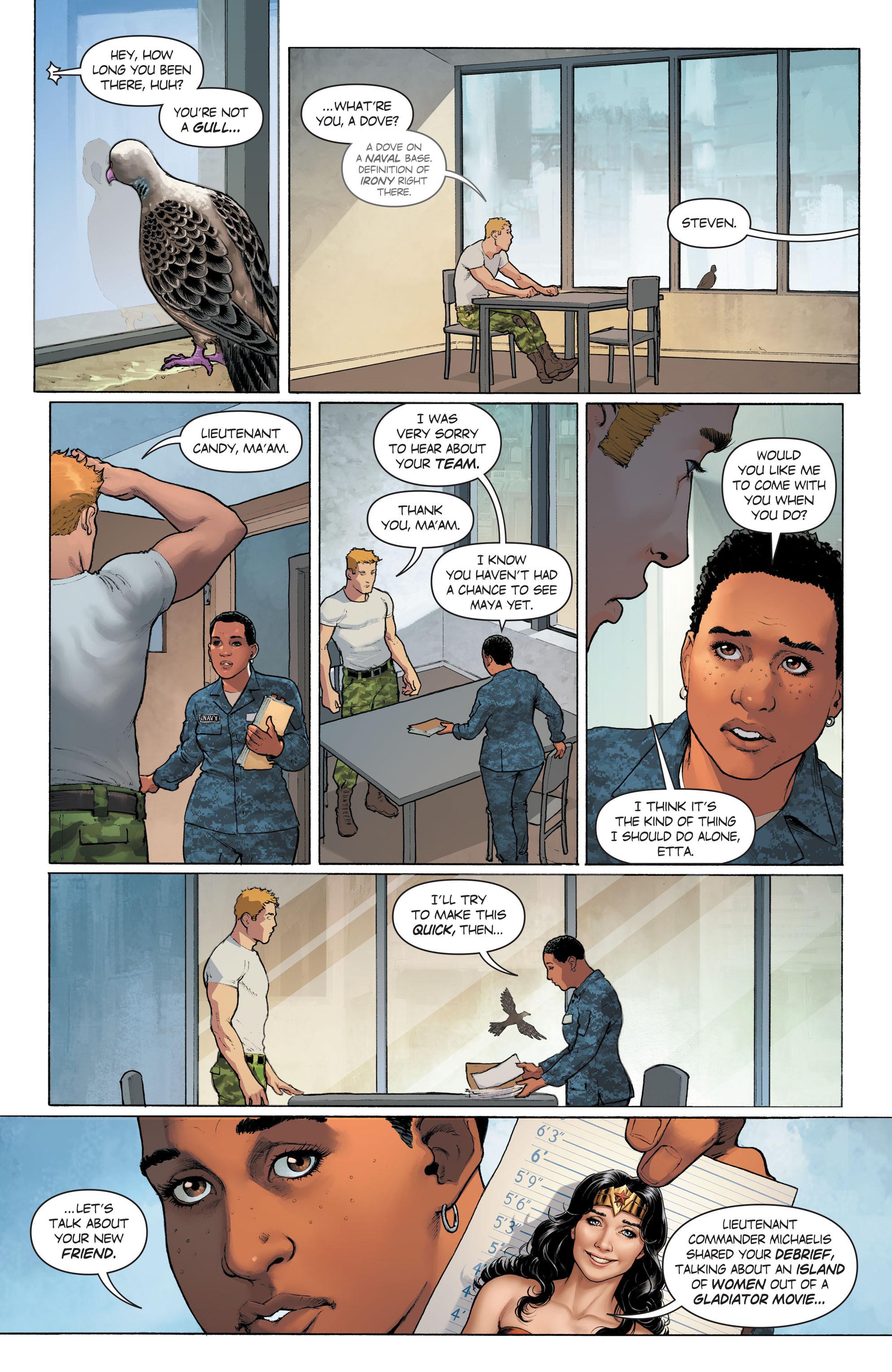 Read online Wonder Woman (2016) comic -  Issue #6 - 11