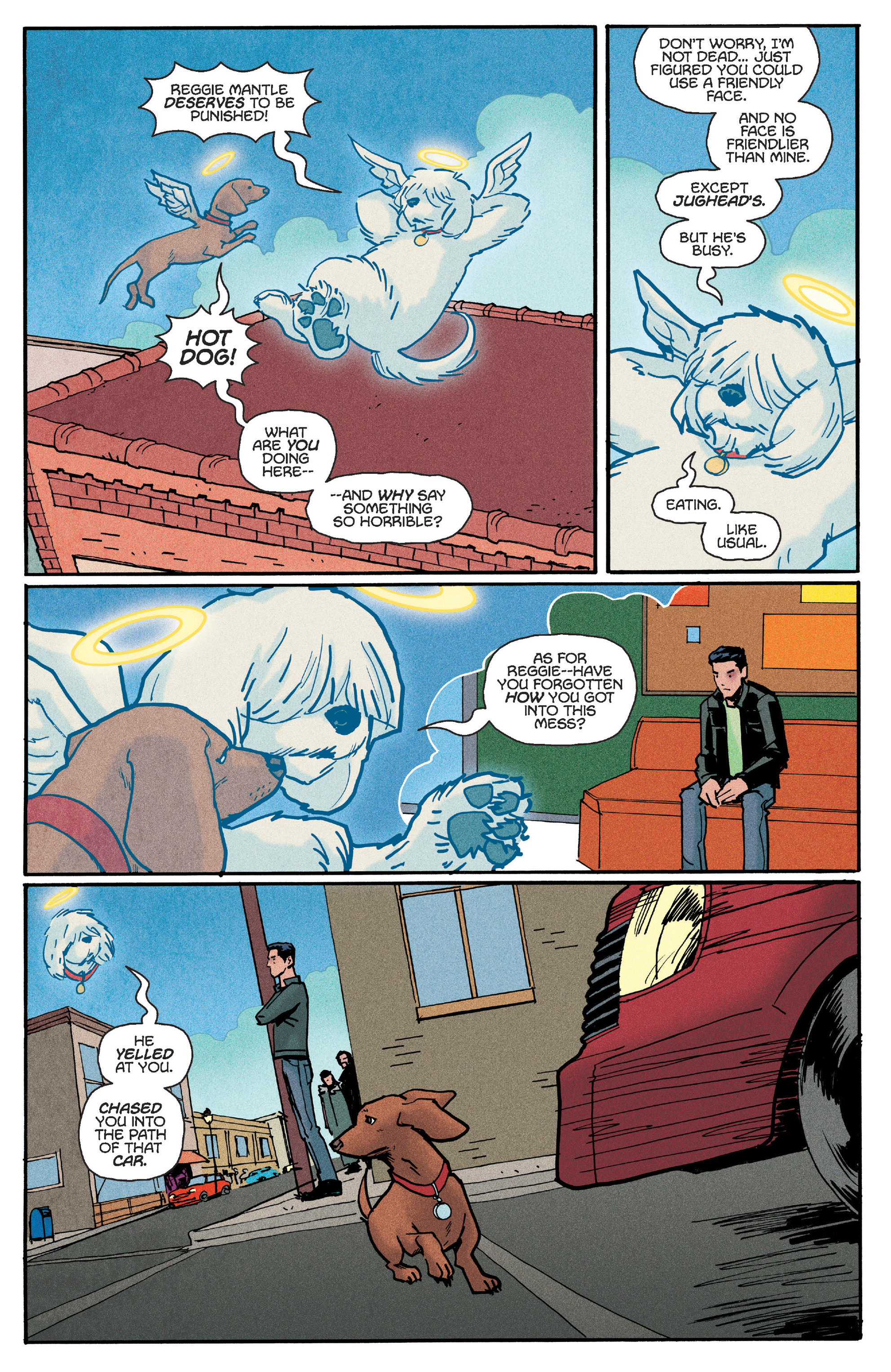 Read online Reggie and Me comic -  Issue #5 - 5