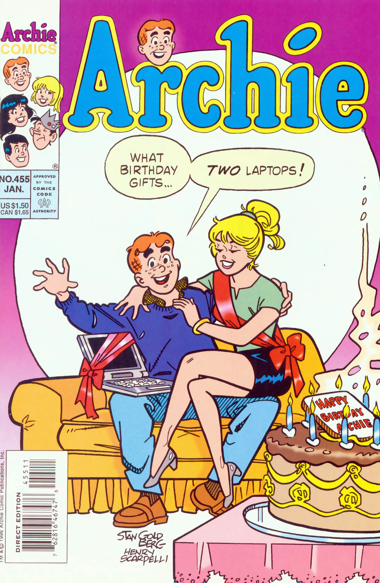 Read online Archie (1960) comic -  Issue #455 - 1