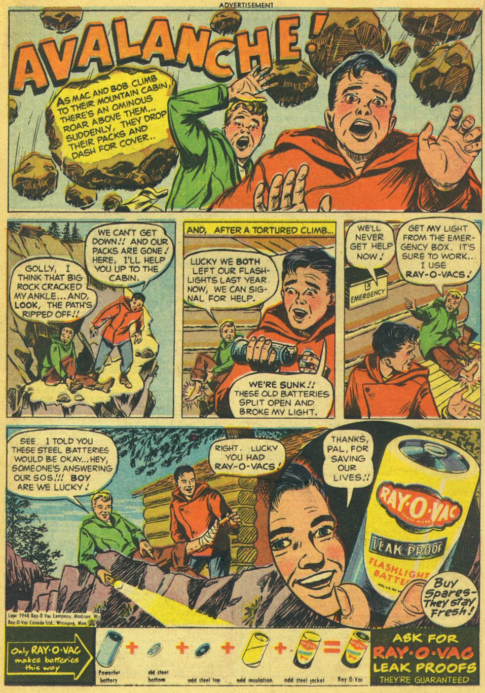 Read online Adventure Comics (1938) comic -  Issue #134 - 22