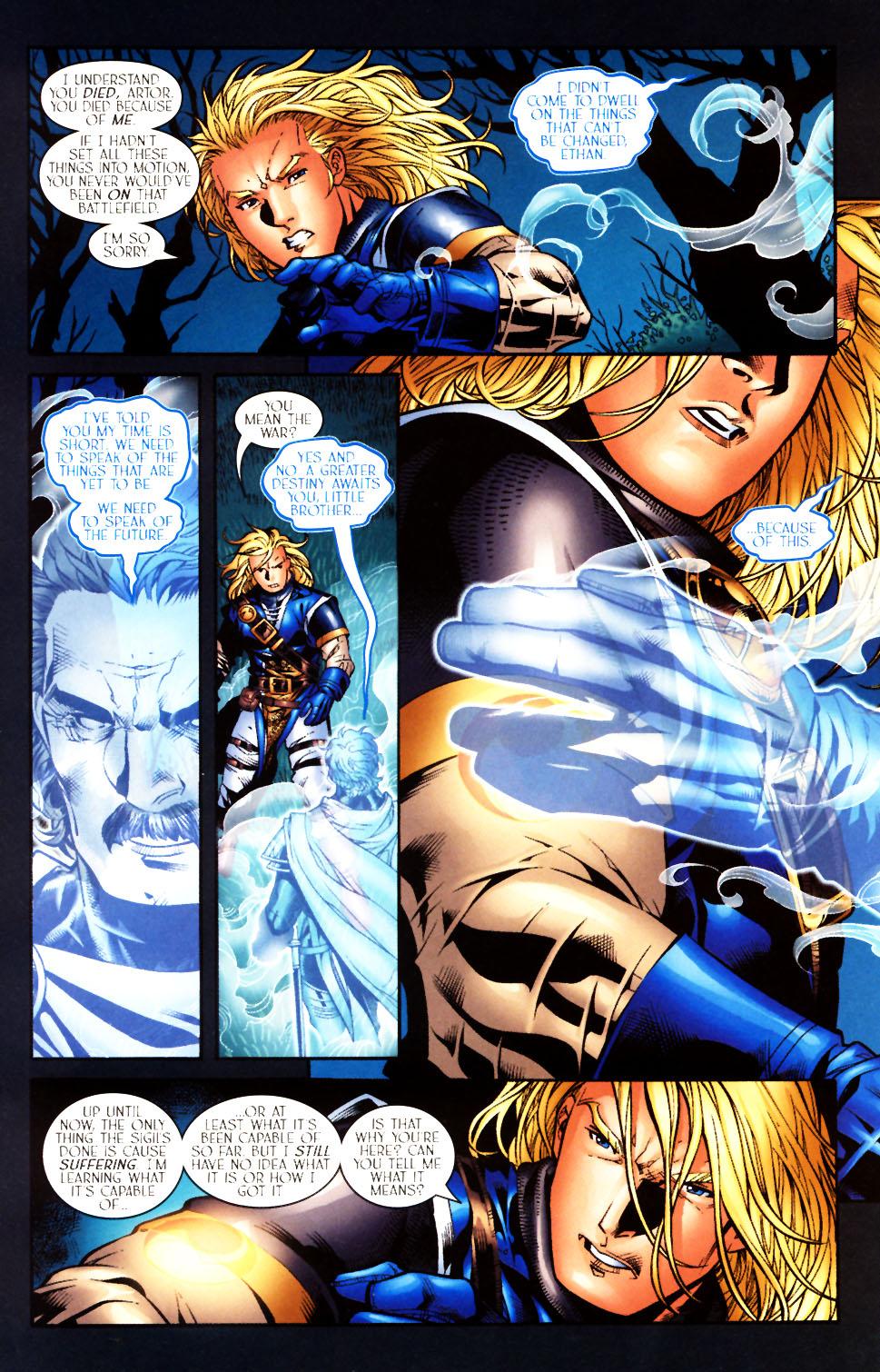 Read online Scion comic -  Issue #10 - 16