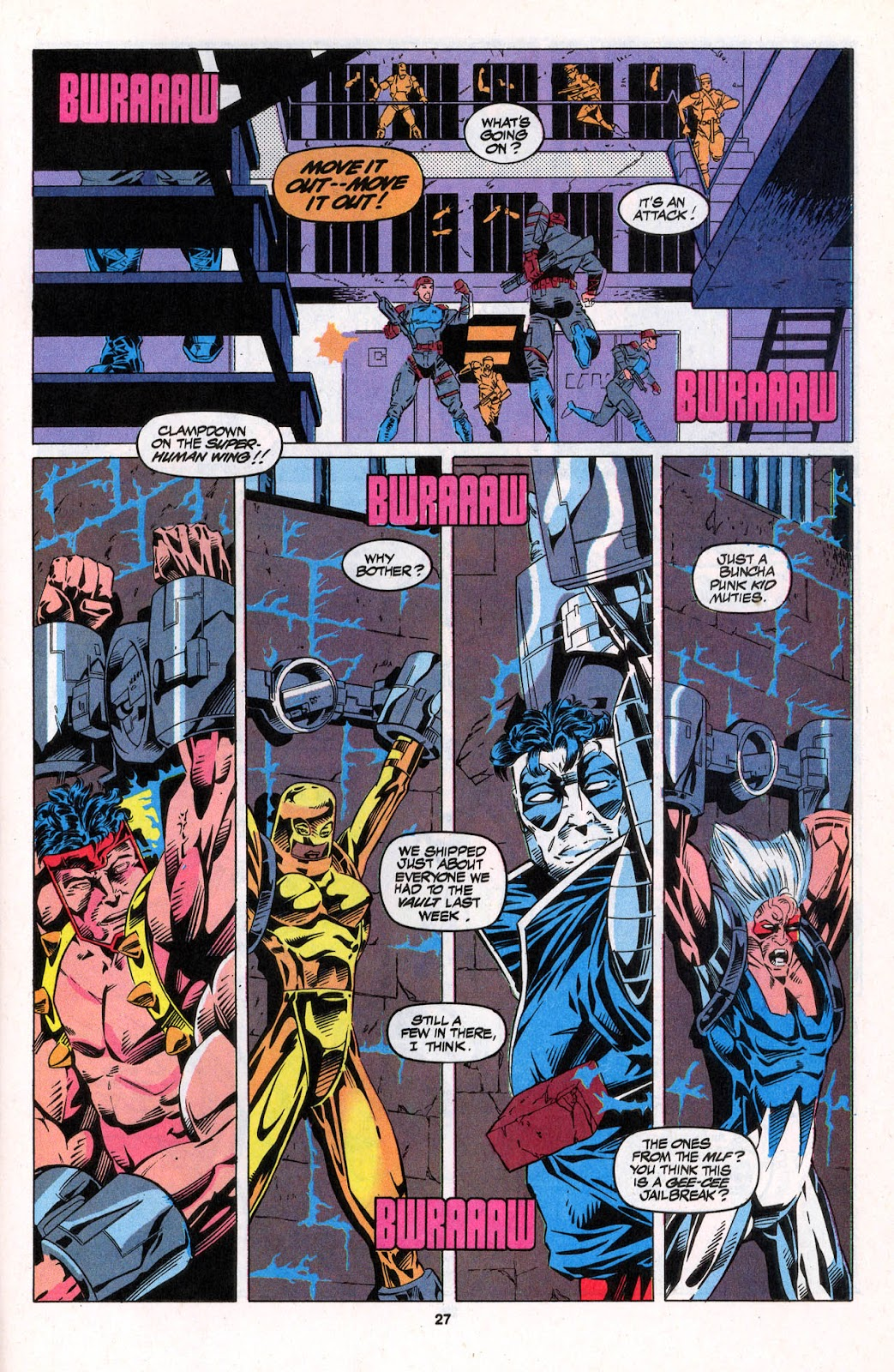 X-Force (1991) Issue #26 #31 - English 27