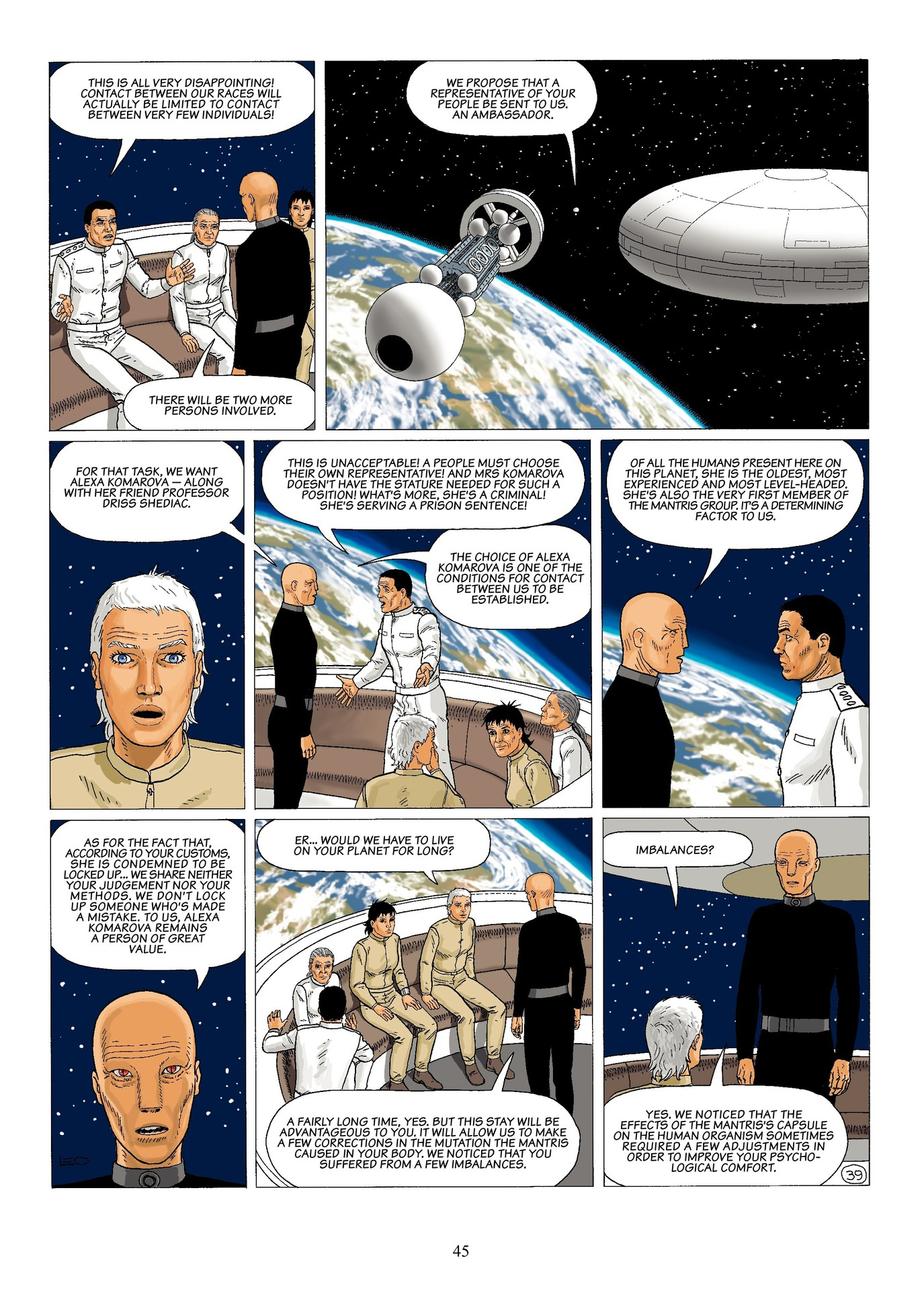 Read online Antares comic -  Issue #6 - 47
