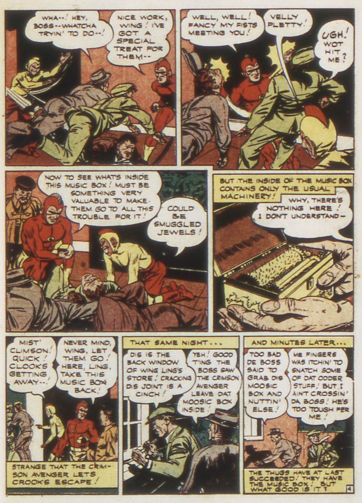 Read online Detective Comics (1937) comic -  Issue #87 - 33