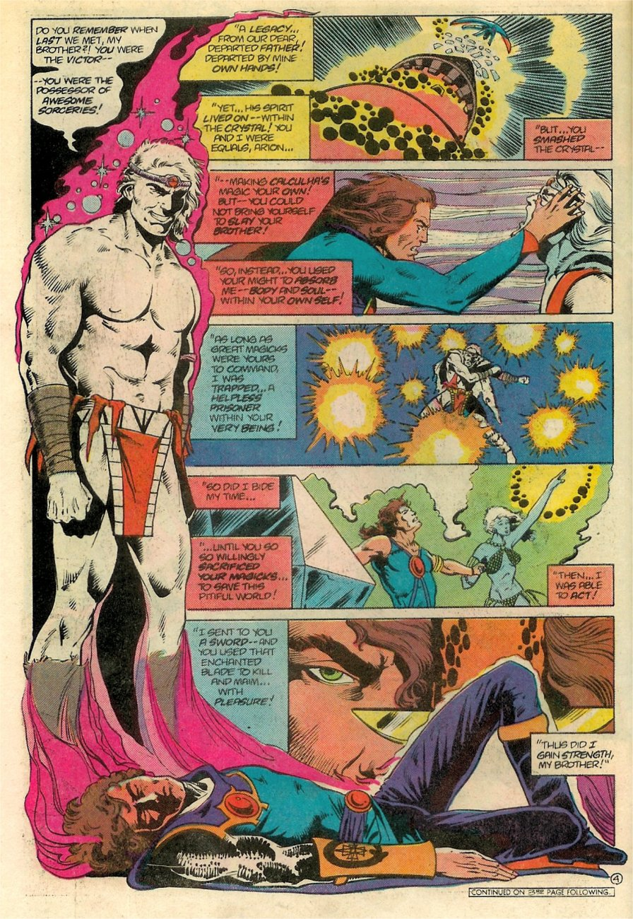 Read online Arion, Lord of Atlantis comic -  Issue #18 - 5
