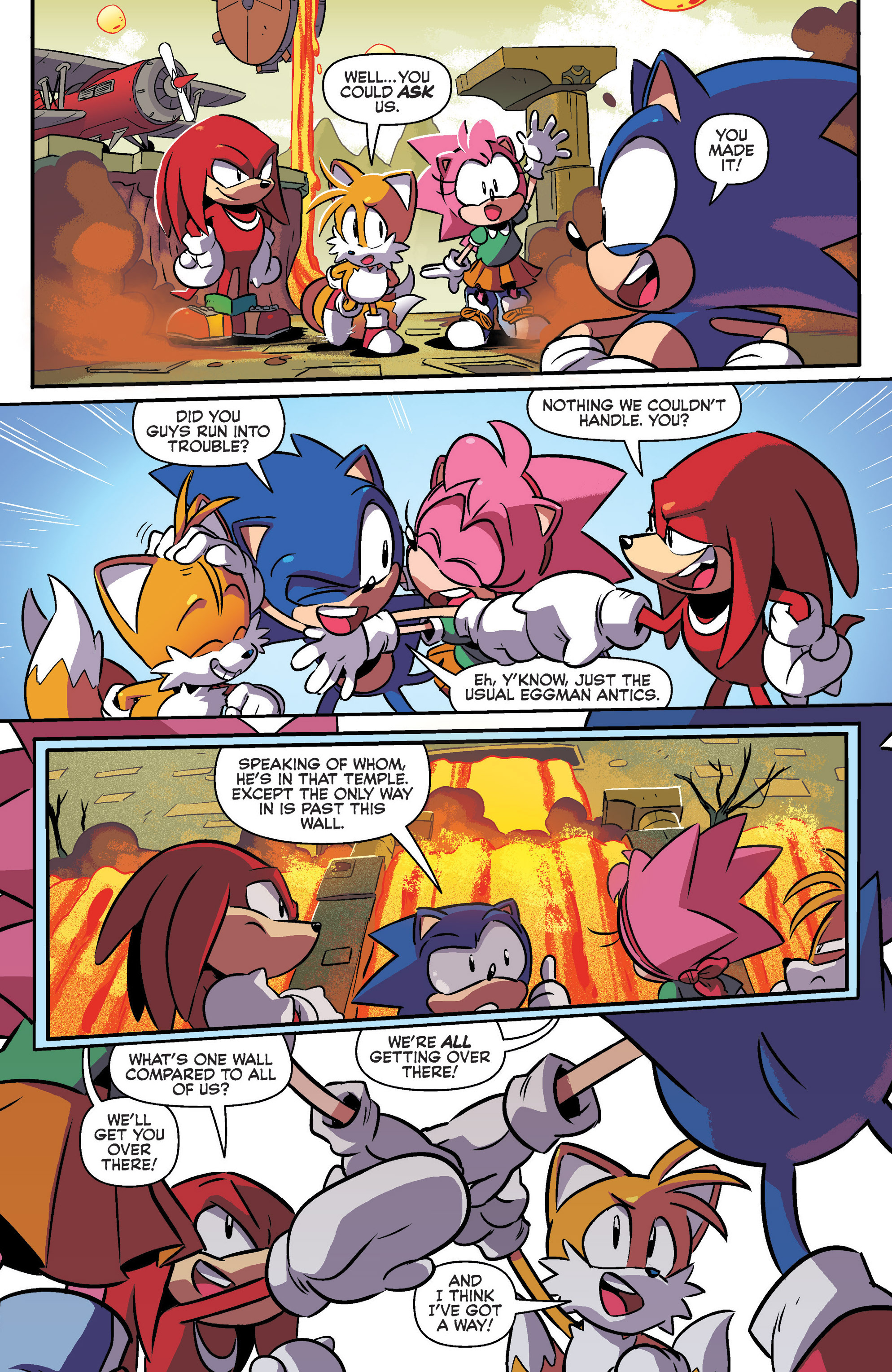 Read online Sonic: Mega Drive - The Next Level comic -  Issue # Full - 16