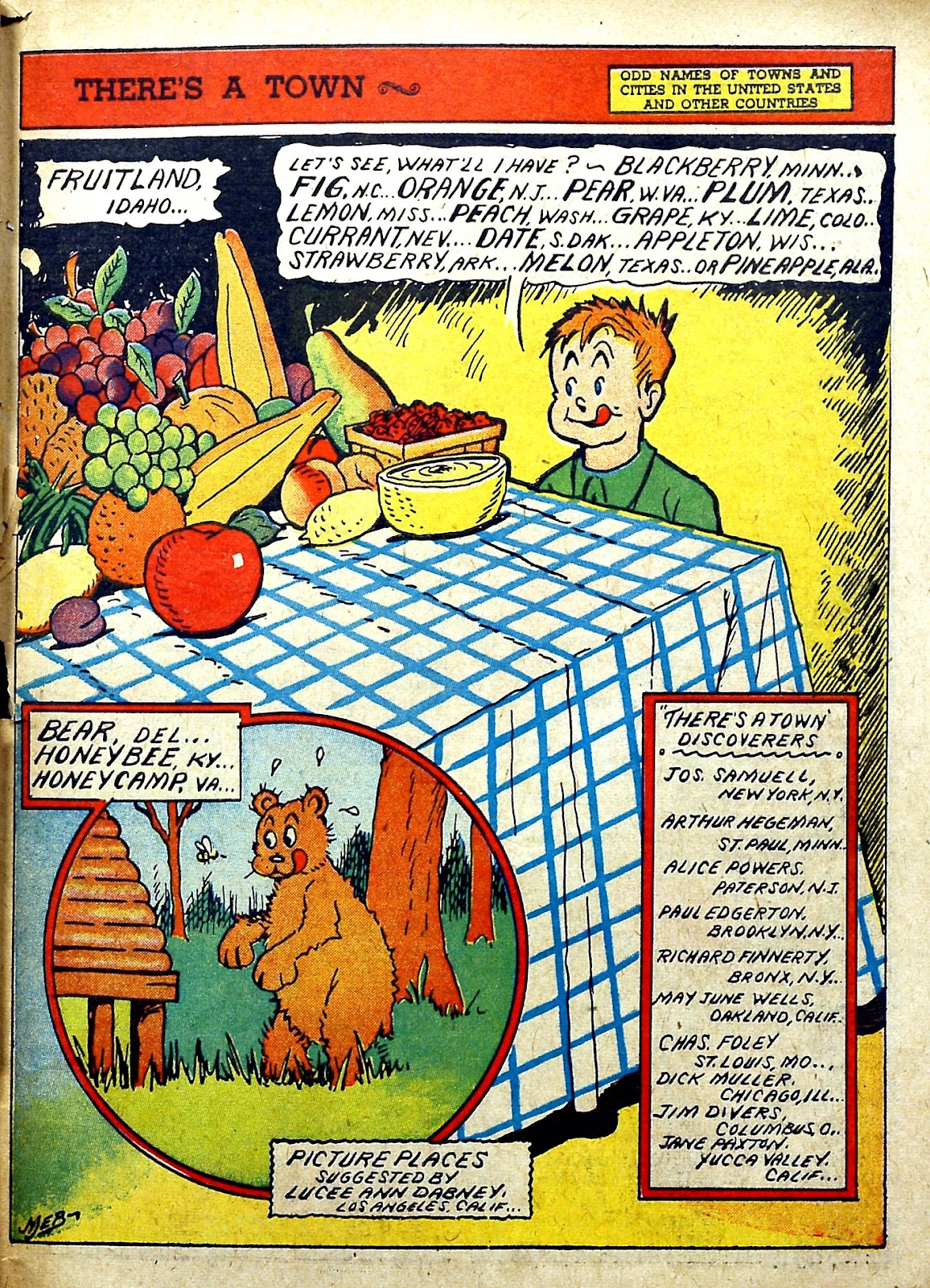 Read online Famous Funnies comic -  Issue #78 - 59