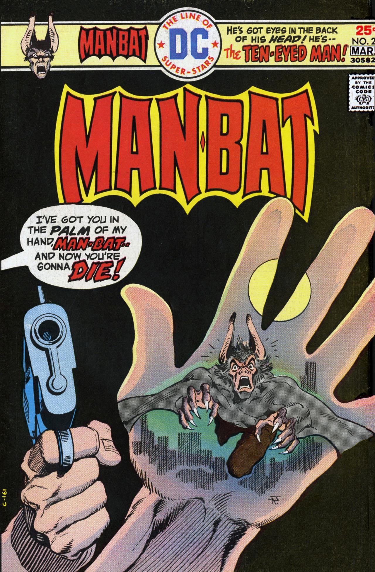 Man-Bat (1975) 2 Page 1
