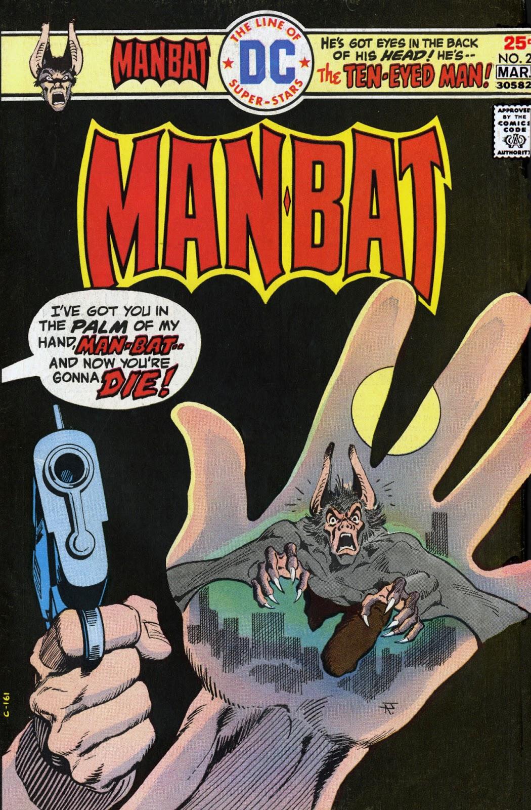 Man-Bat (1975) issue 2 - Page 1