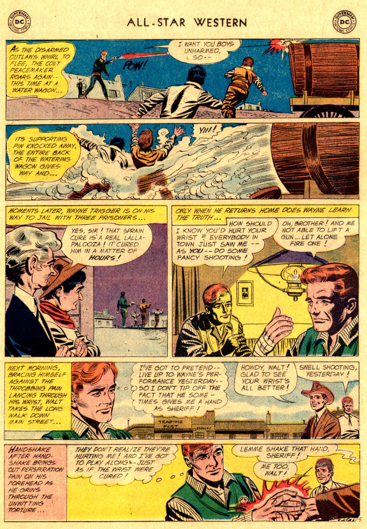 Read online All-Star Western (1951) comic -  Issue #112 - 29