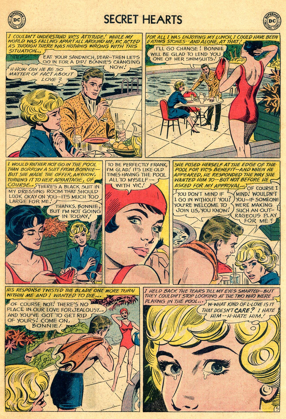 Read online Secret Hearts comic -  Issue #81 - 7