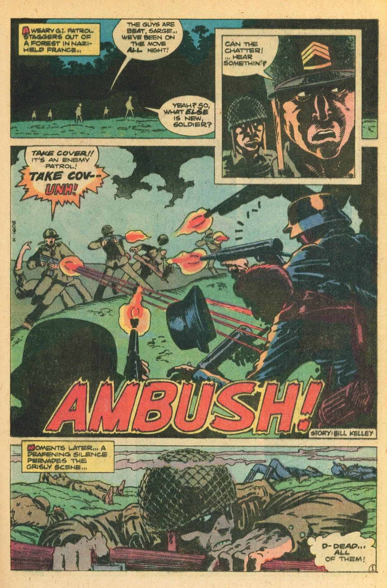Read online Sgt. Rock comic -  Issue #329 - 25