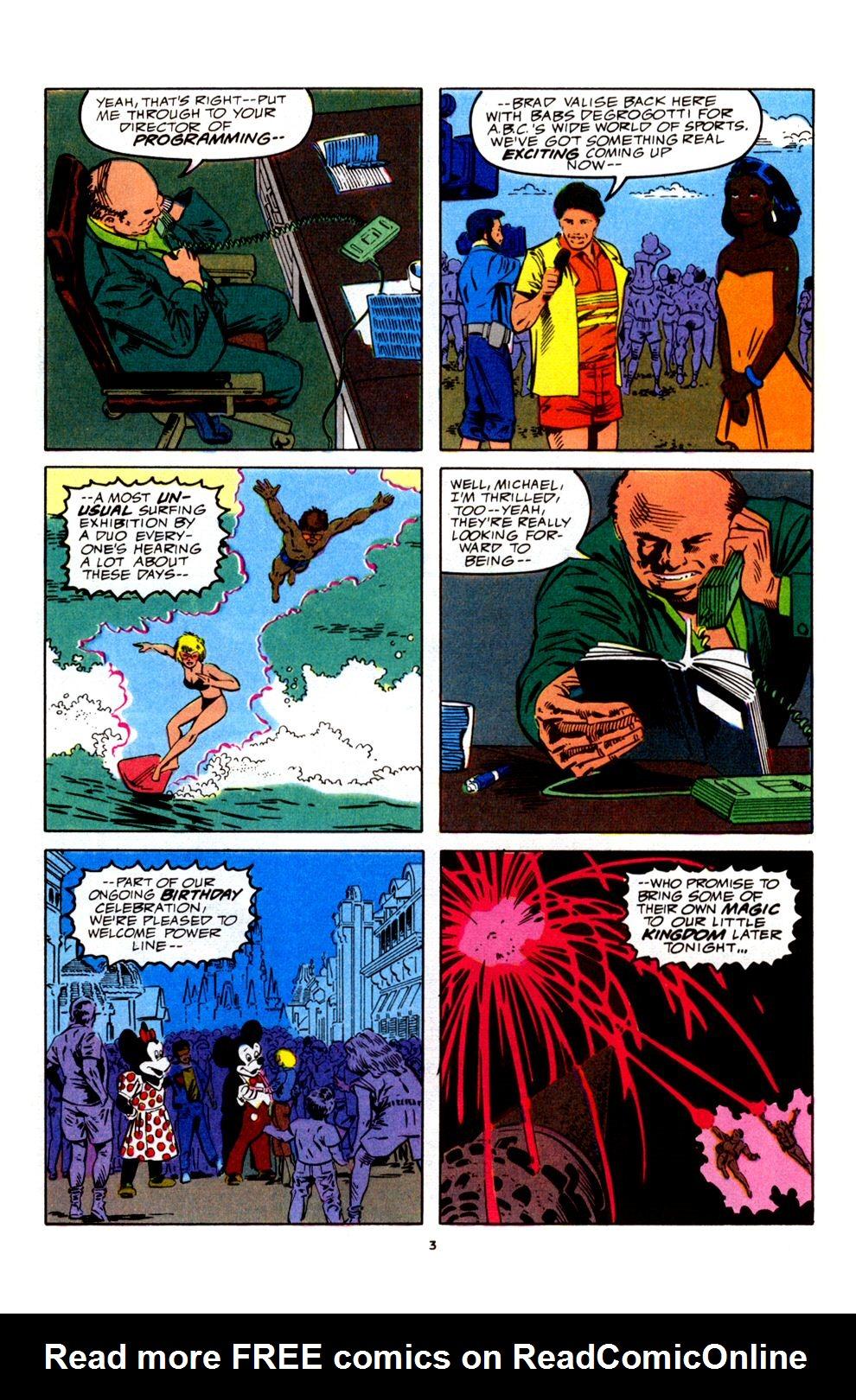 Read online Powerline comic -  Issue #4 - 5