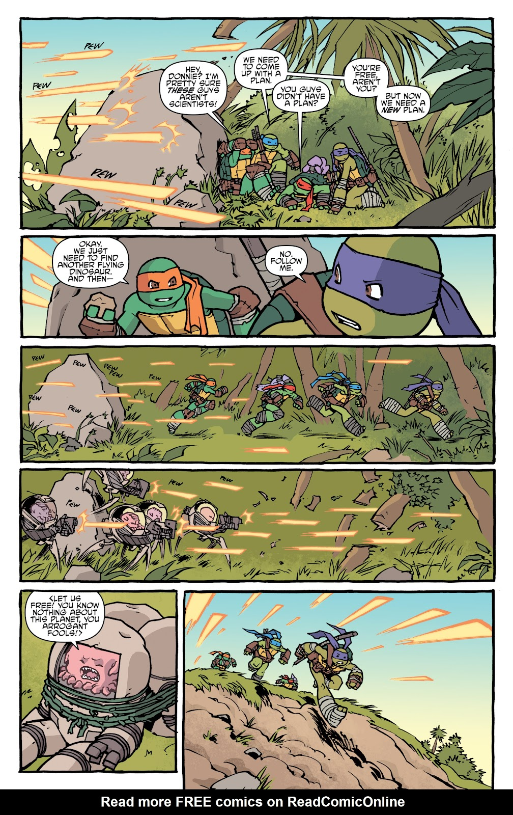 Read online Teenage Mutant Ninja Turtles: The IDW Collection comic -  Issue # TPB 5 (Part 1) - 25