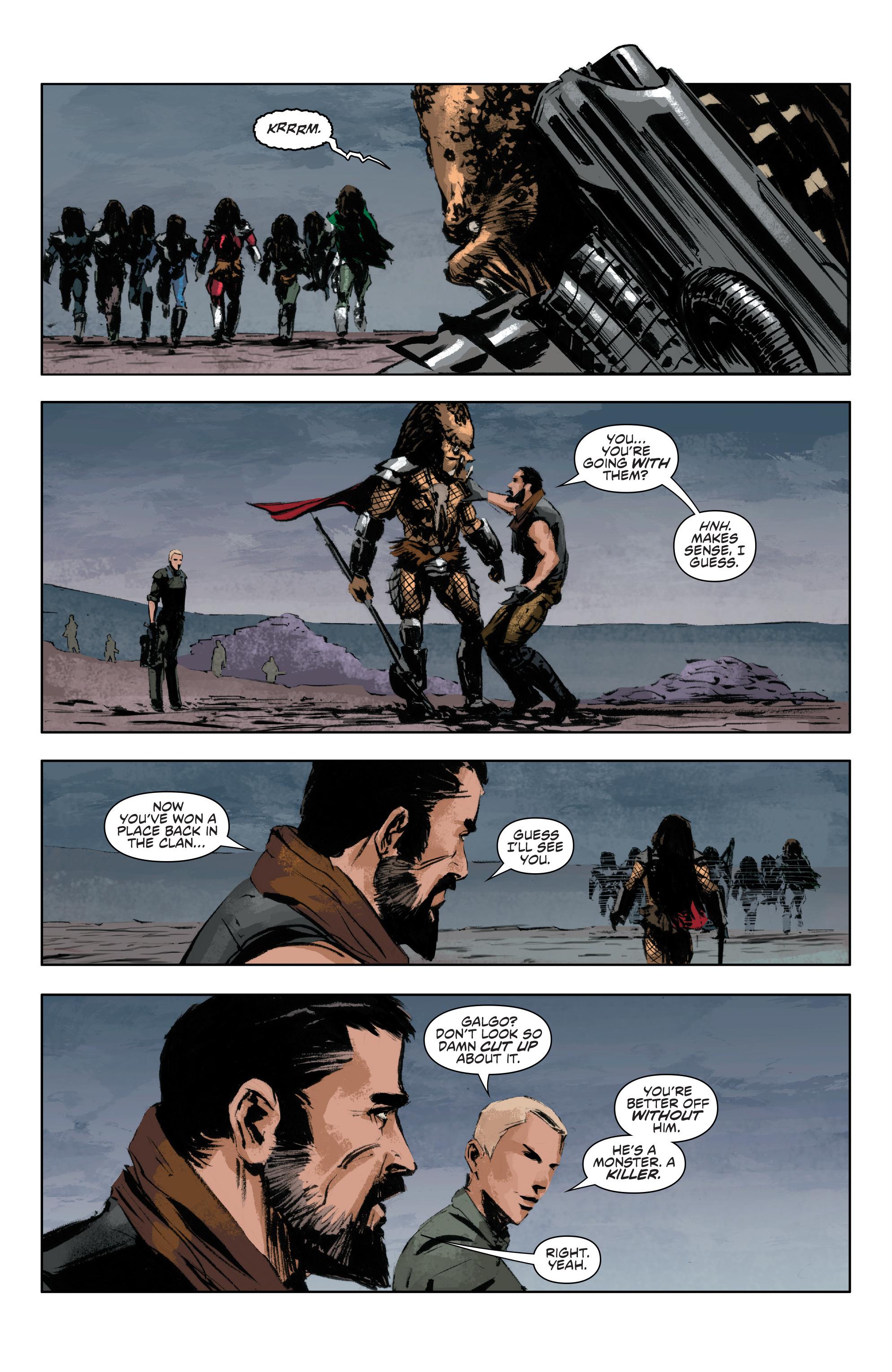 Read online Alien Vs. Predator: Life and Death comic -  Issue #4 - 18