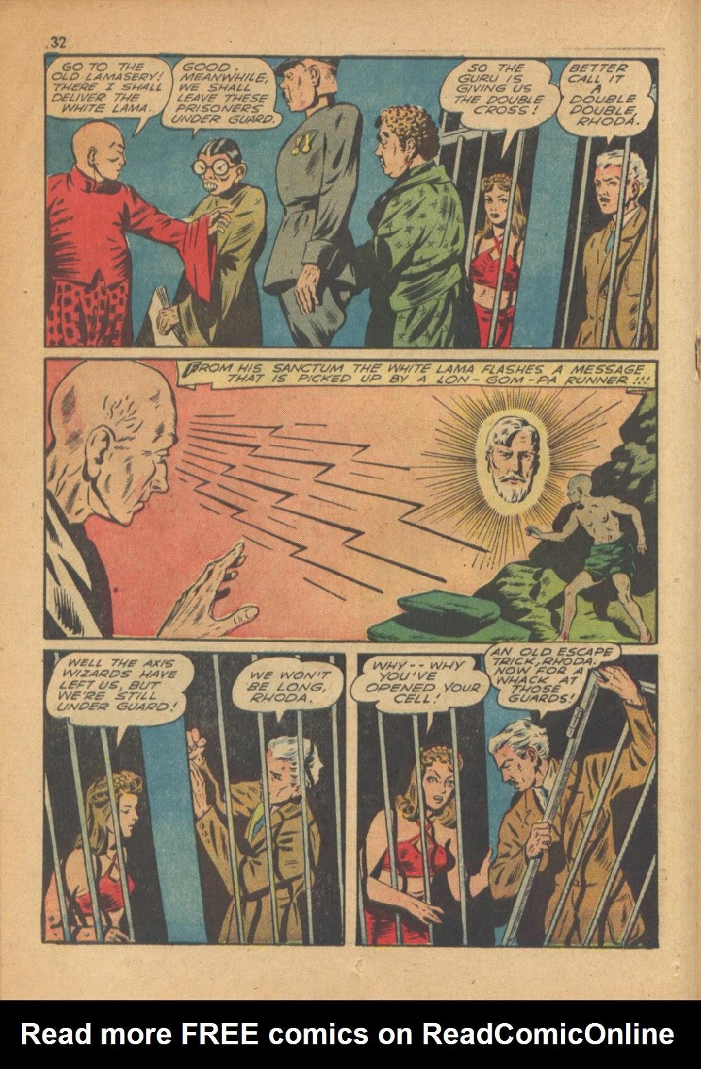Read online Super-Magician Comics comic -  Issue #13 - 32