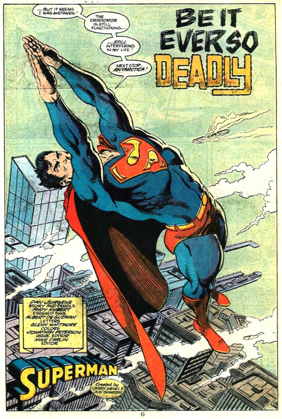 Read online Adventures of Superman (1987) comic -  Issue #460 - 7
