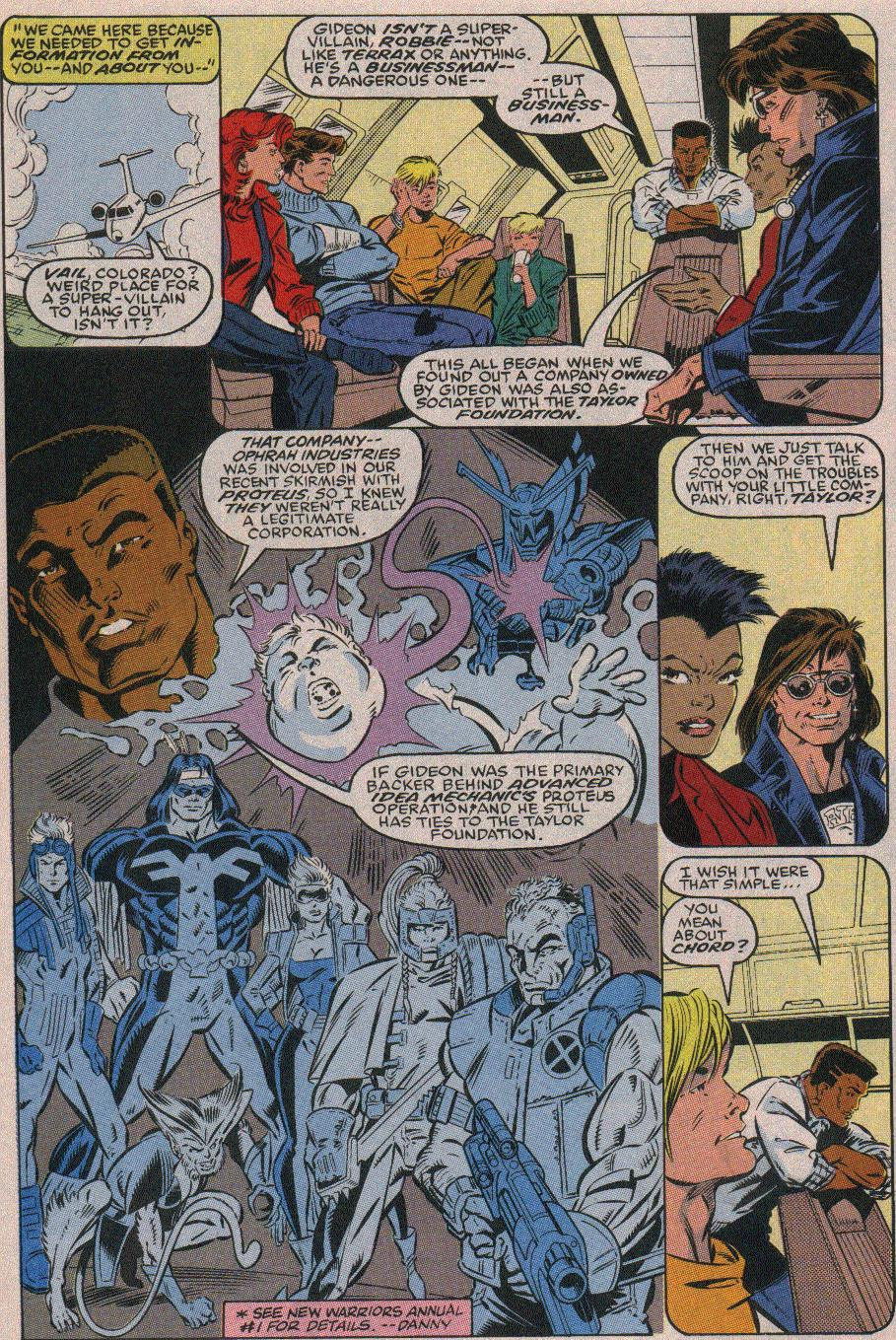 The New Warriors Issue #19 #23 - English 4