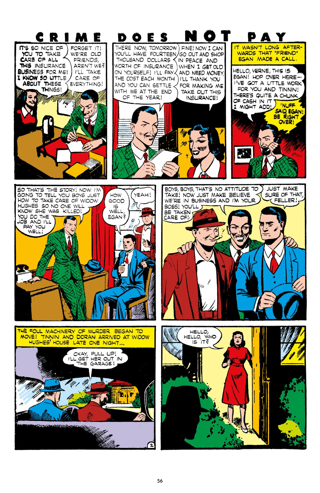 Read online Crime Does Not Pay Archives comic -  Issue # TPB 7 (Part 1) - 58