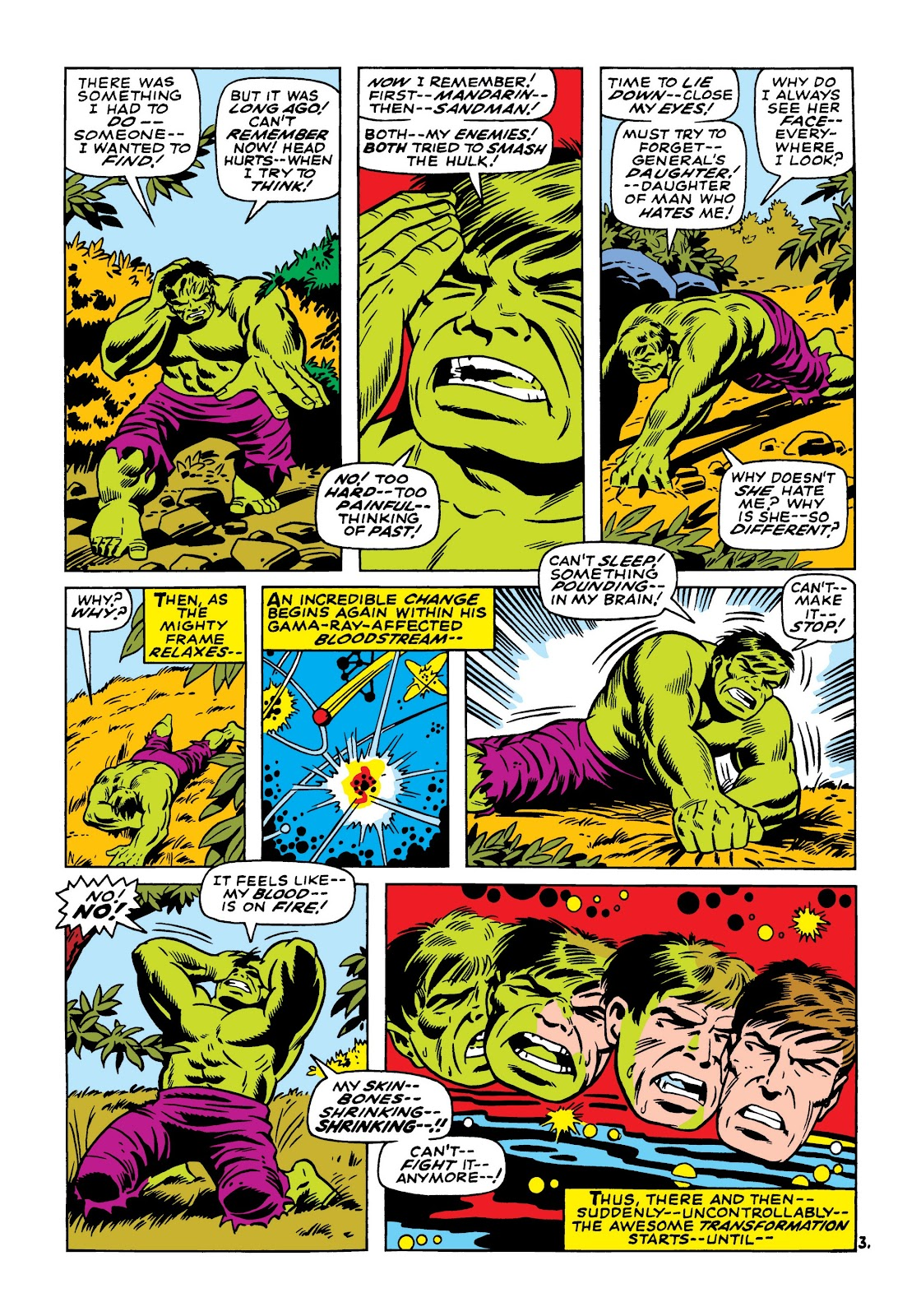 Read online Marvel Masterworks: The Incredible Hulk comic -  Issue # TPB 5 (Part 1) - 72