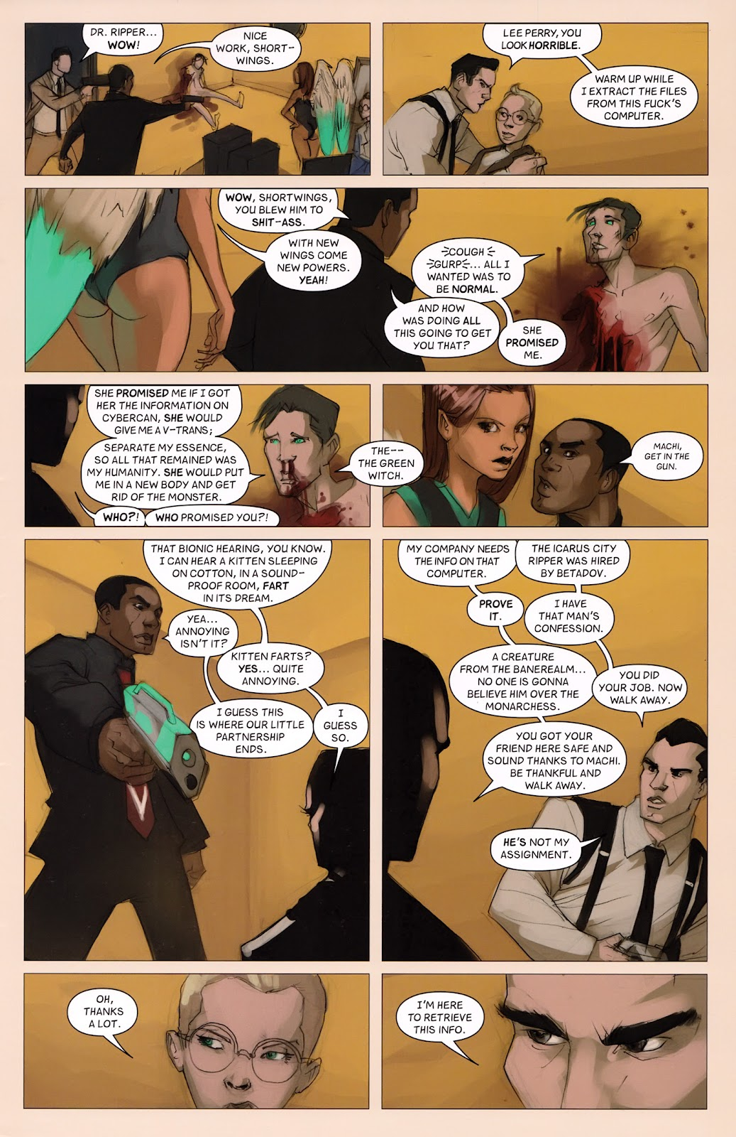 Read online Vescell comic -  Issue #6 - 27