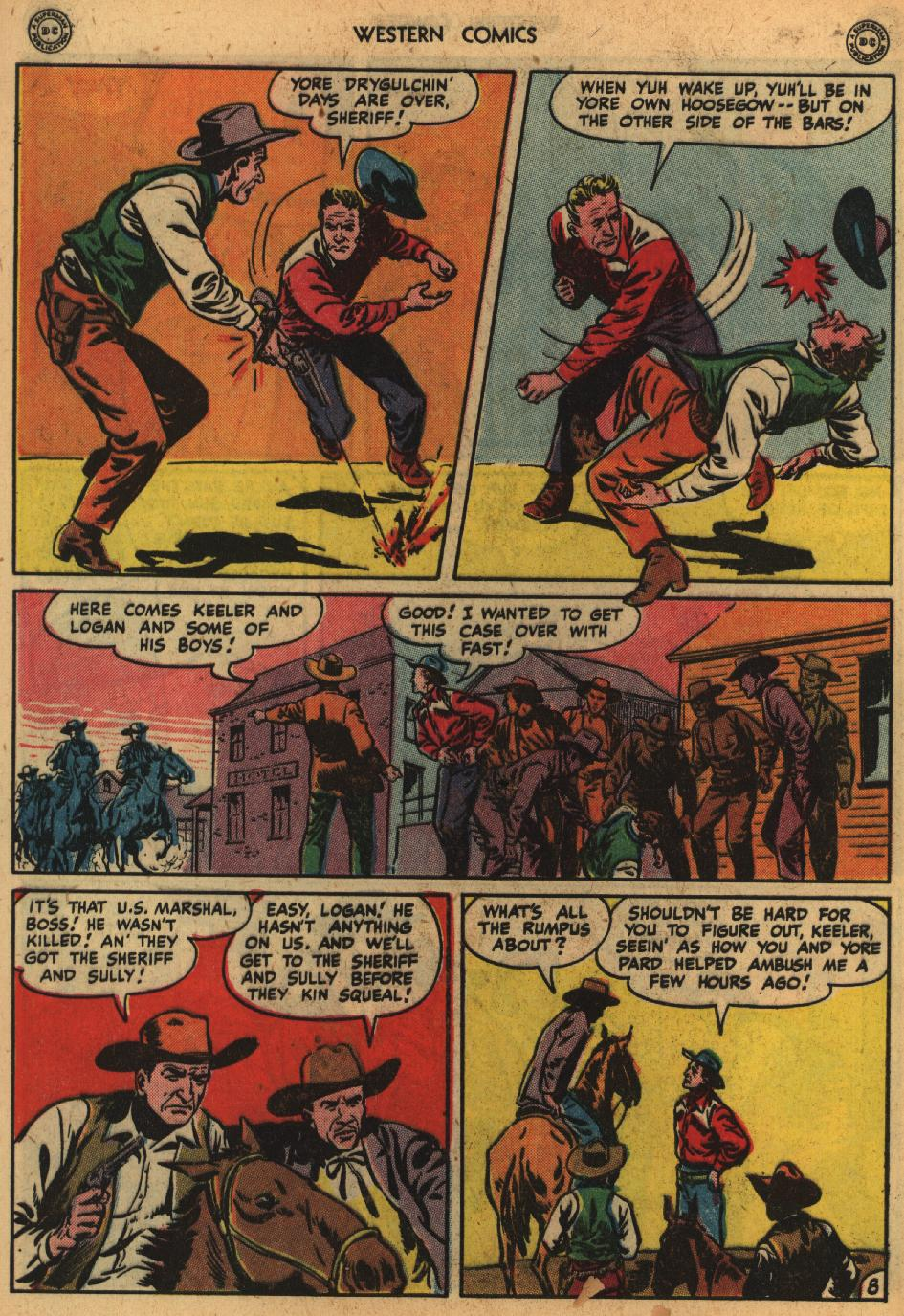 Western Comics issue 1 - Page 10
