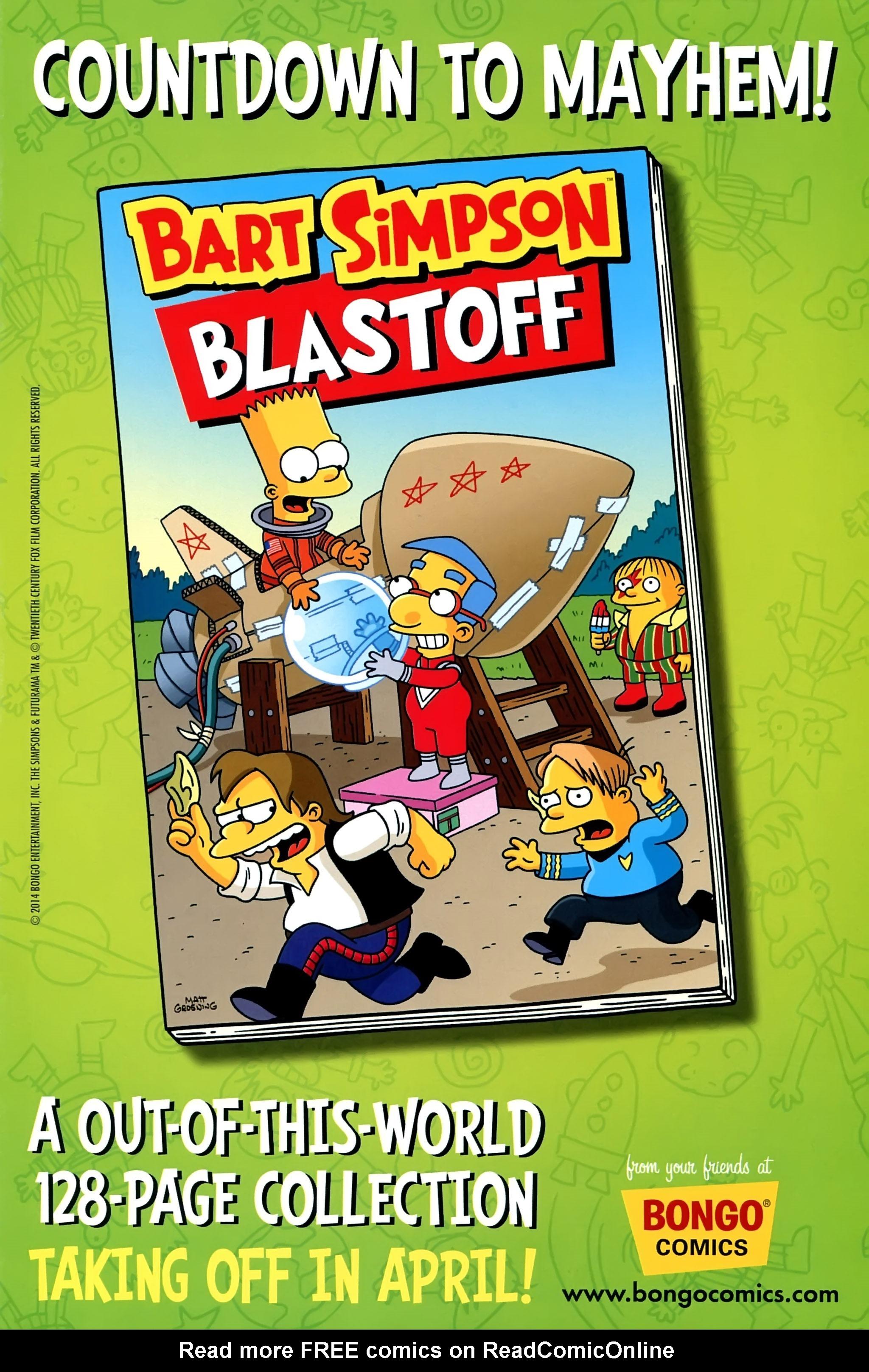 Read online Simpsons Comics Presents Bart Simpson comic -  Issue #95 - 2