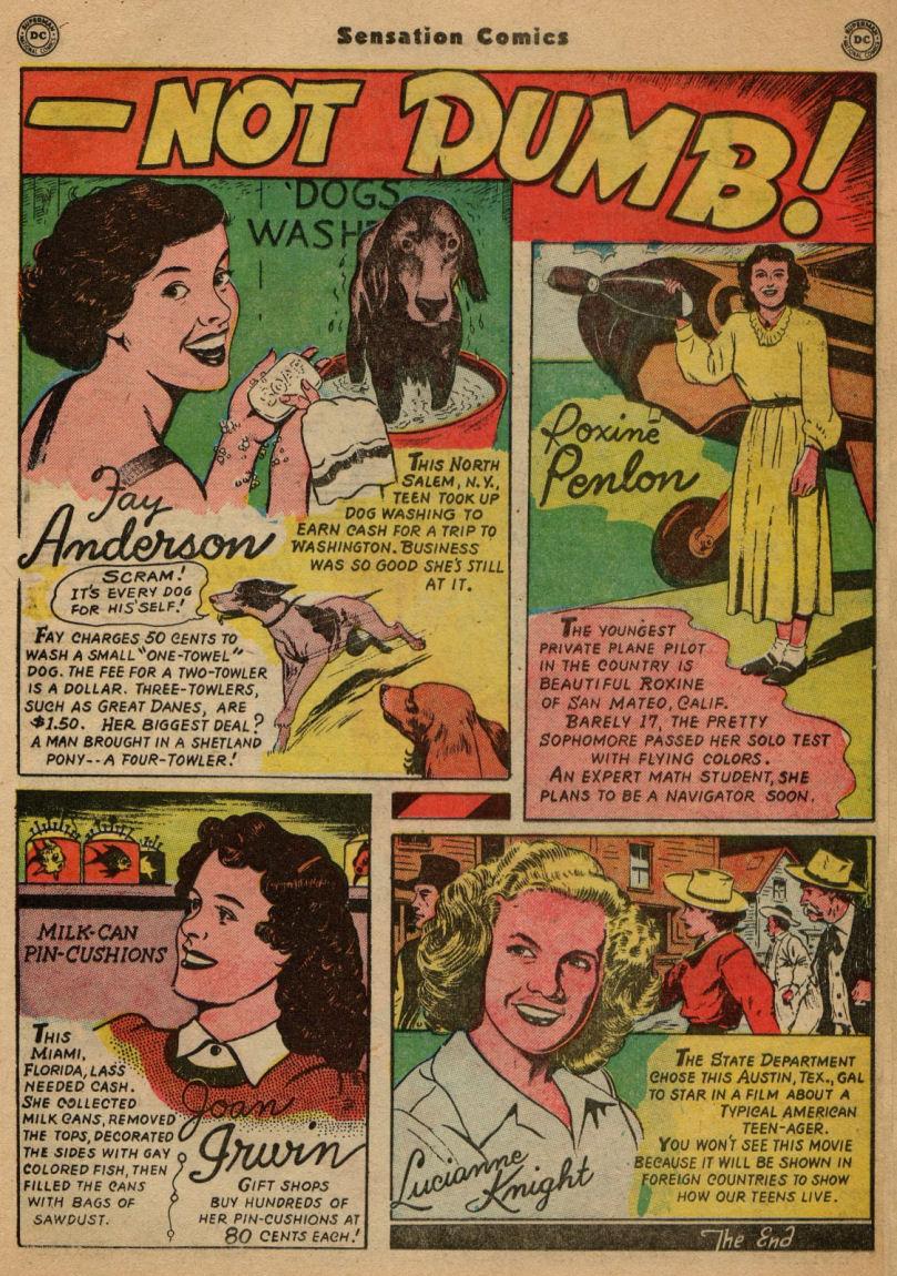 Read online Sensation (Mystery) Comics comic -  Issue #100 - 29