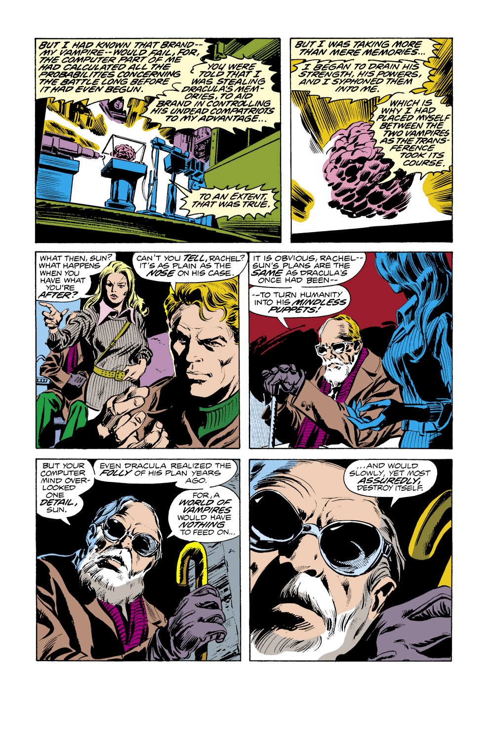 Tomb of Dracula (1972) issue 38 - Page 13