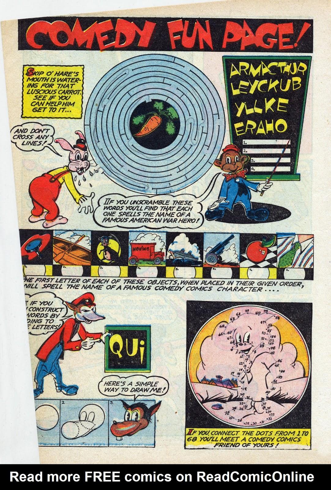 Read online Comedy Comics (1942) comic -  Issue #13 - 27