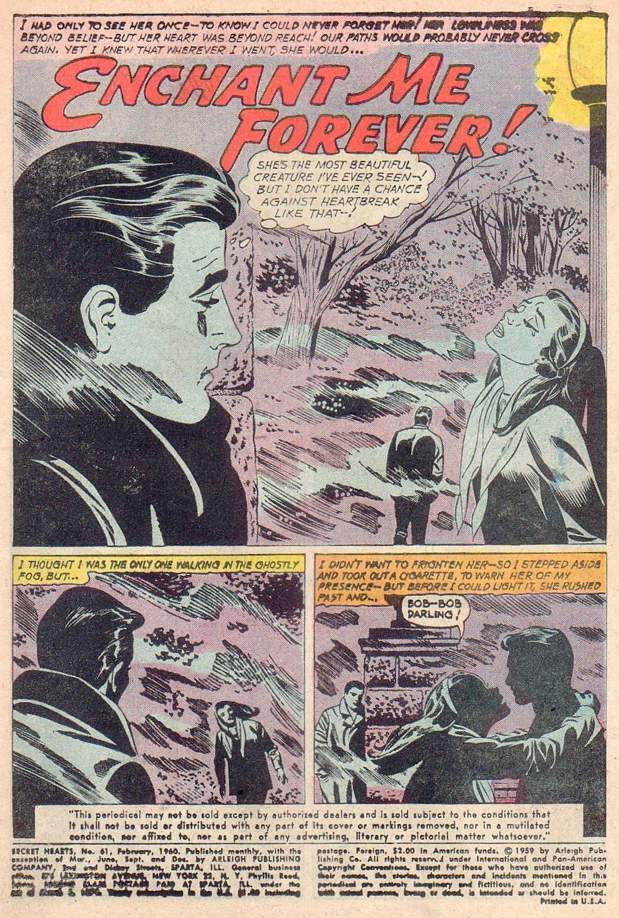 Read online Secret Hearts comic -  Issue #61 - 3