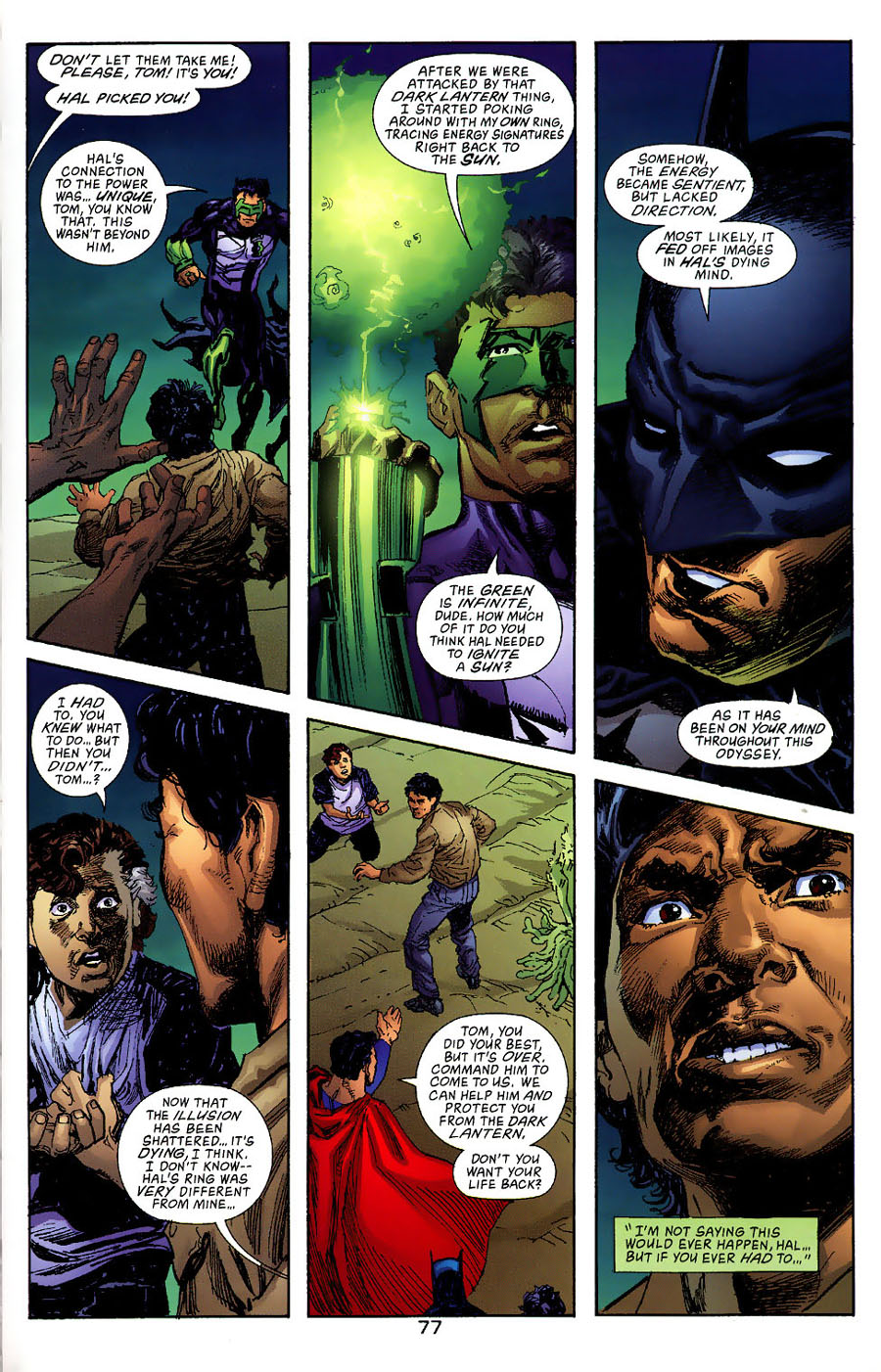 Read online Green Lantern: Legacy: The Last Will and Testament of Hal Jordan comic -  Issue # TPB - 83
