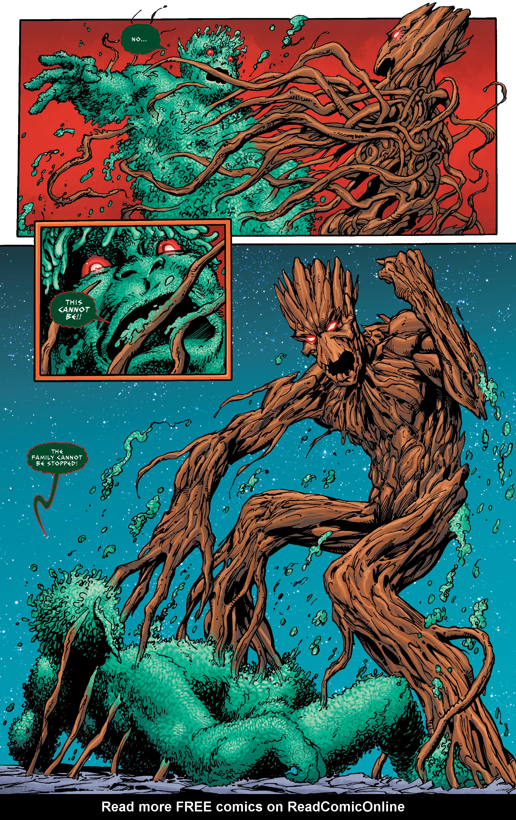 Read online Guardians of the Galaxy: Mother Entropy comic -  Issue #5 - 13