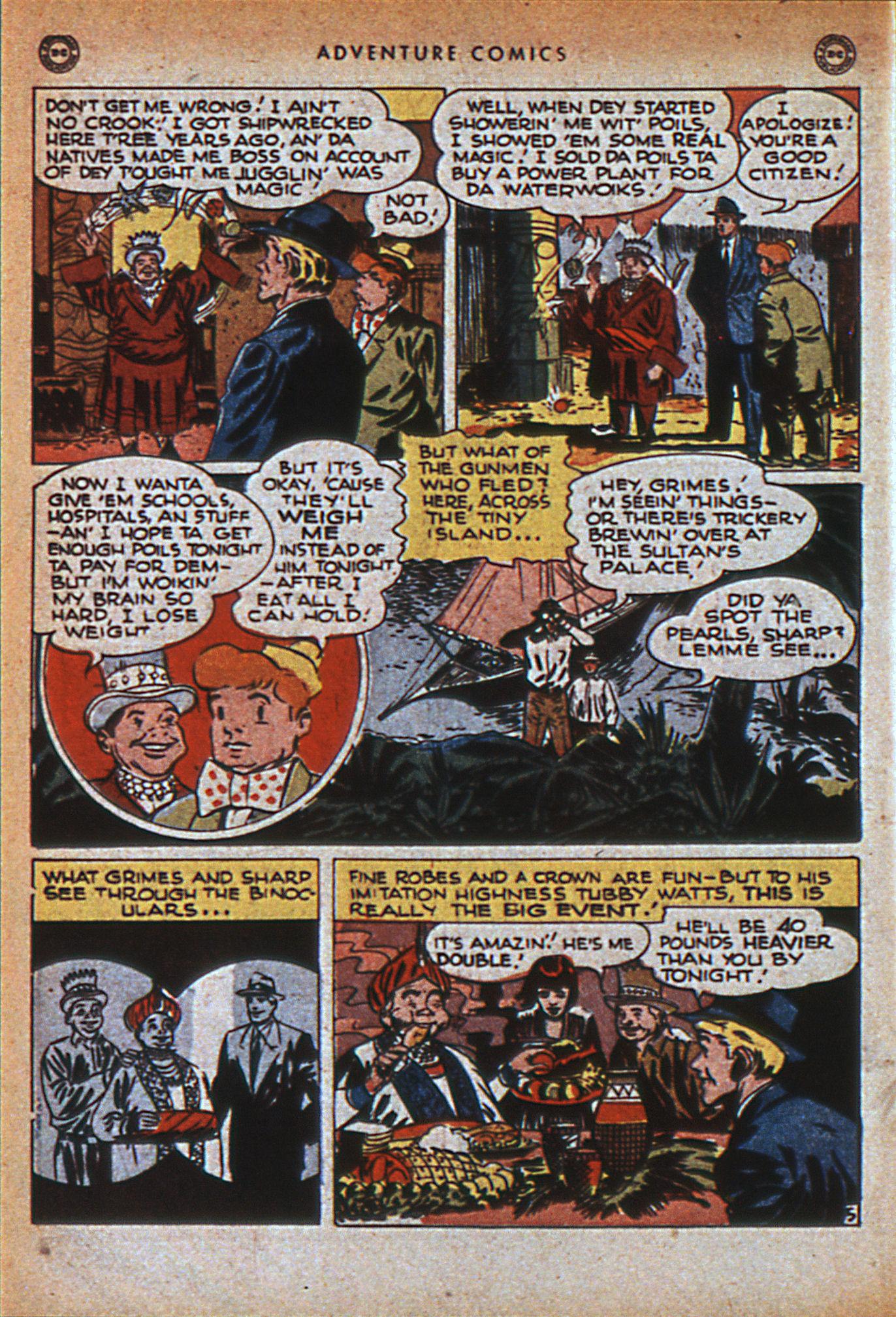 Read online Adventure Comics (1938) comic -  Issue #116 - 45