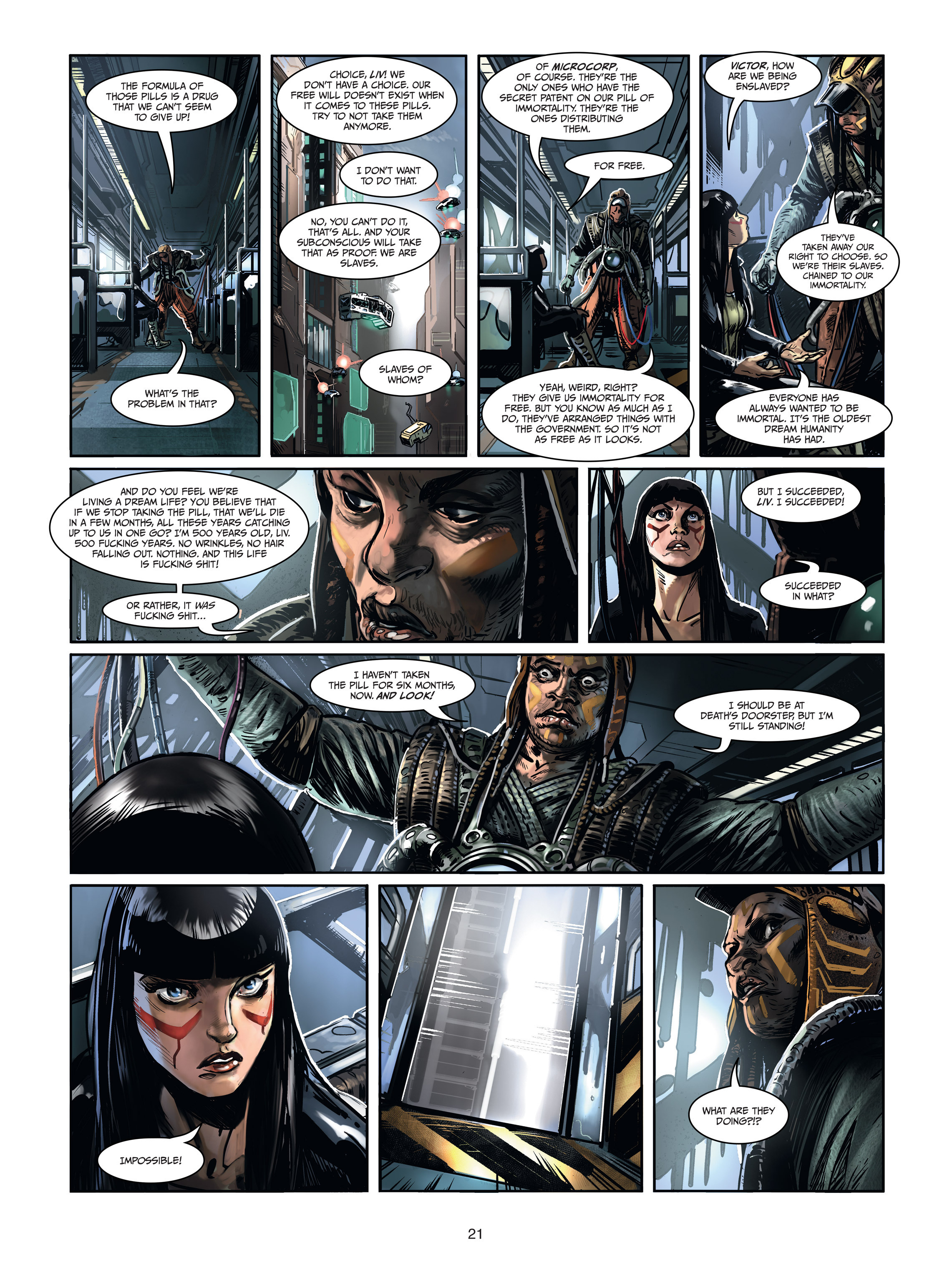 Read online Androïds comic -  Issue #1 - 19