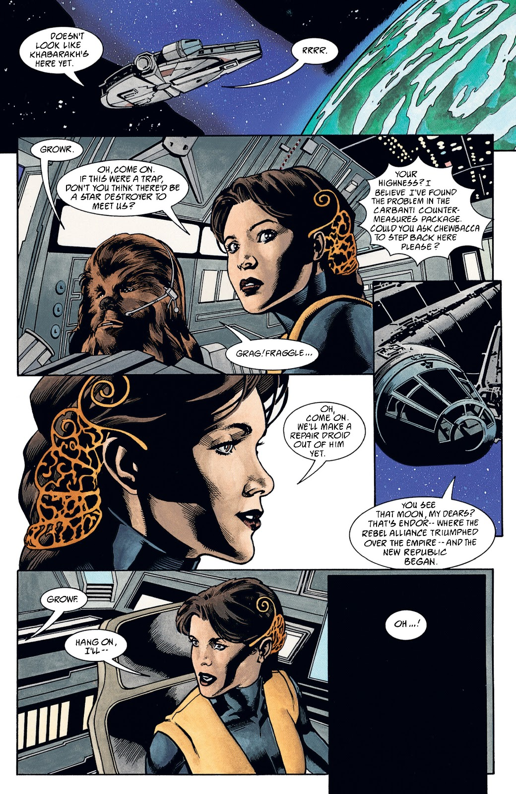 Read online Star Wars Legends: The New Republic - Epic Collection comic -  Issue # TPB 4 (Part 2) - 76